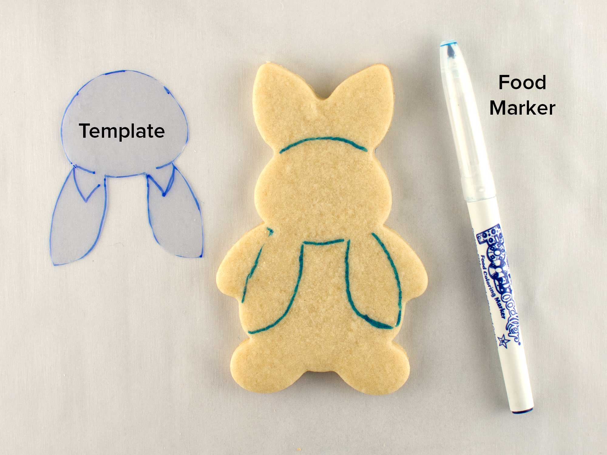 peter rabbit cookies step 1