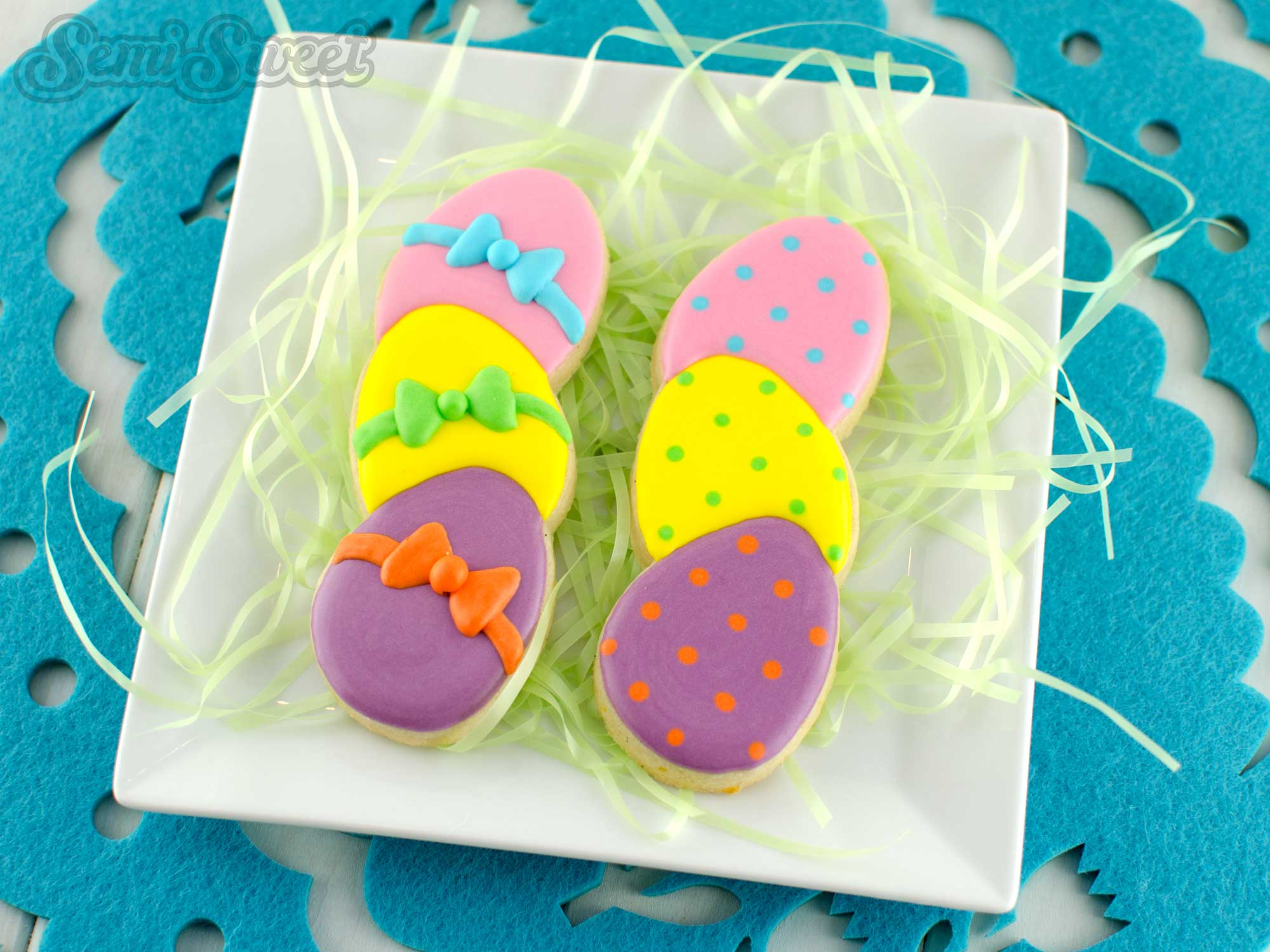 eggs easter stick cookies