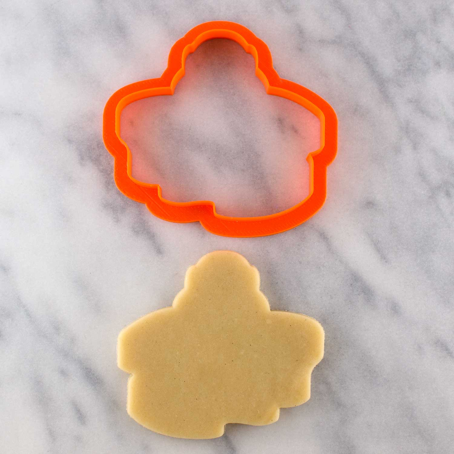 polar animal cookie cutter