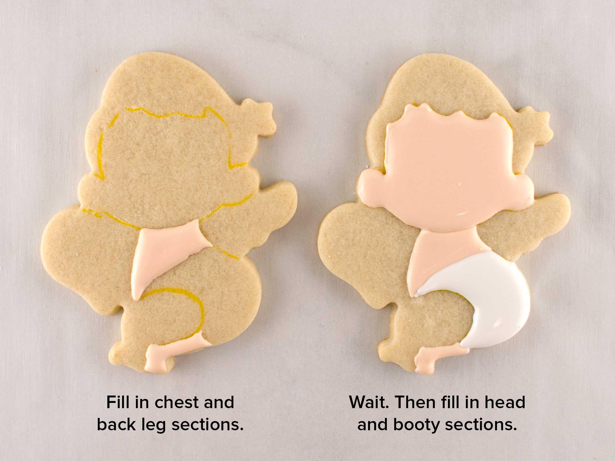 cupid cookies step 2
