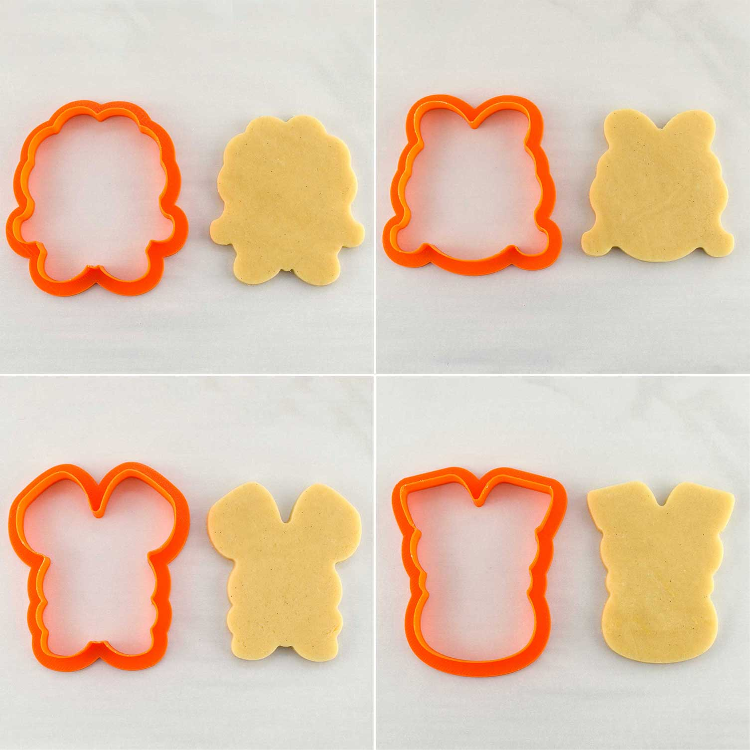 easter animal cookie cutters