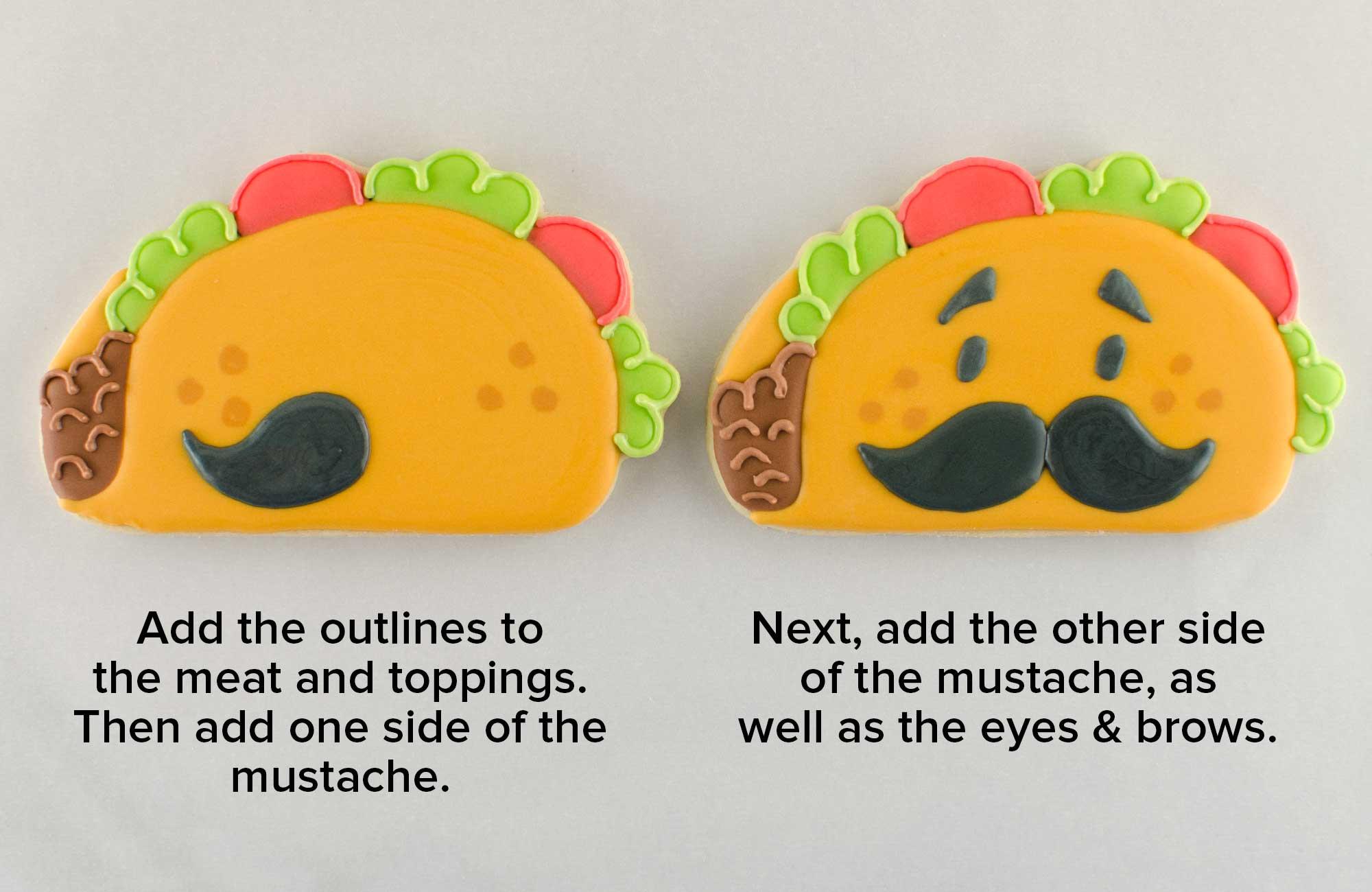 taco cookies step 3