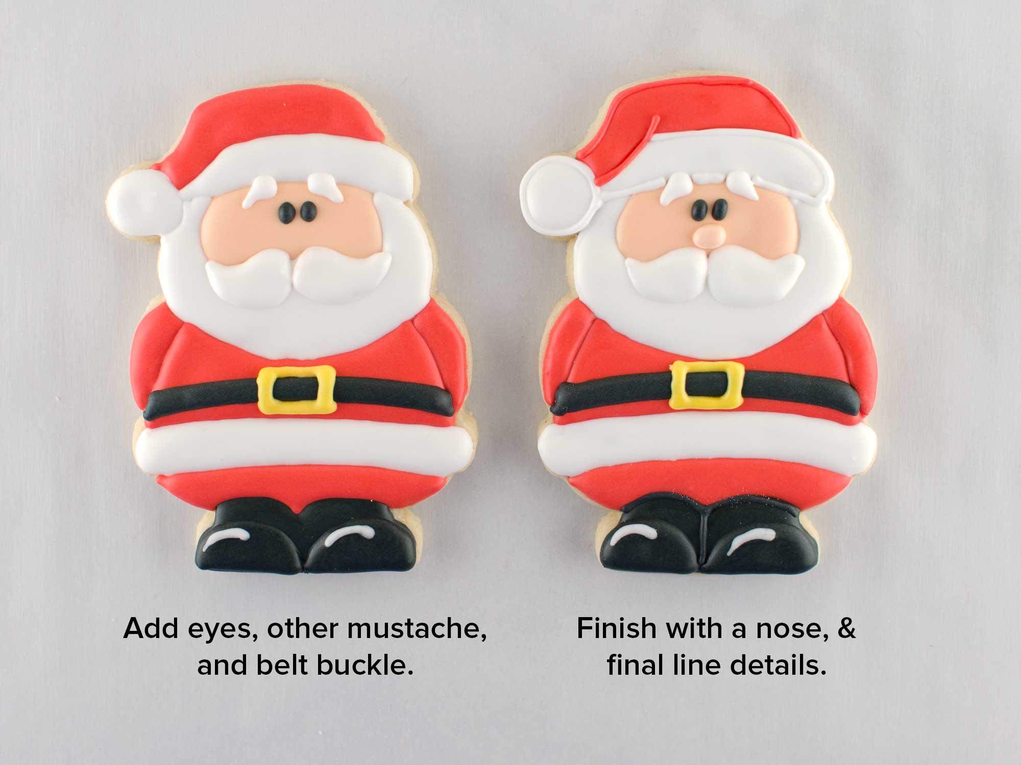 How To Make Santa Claus Cookies