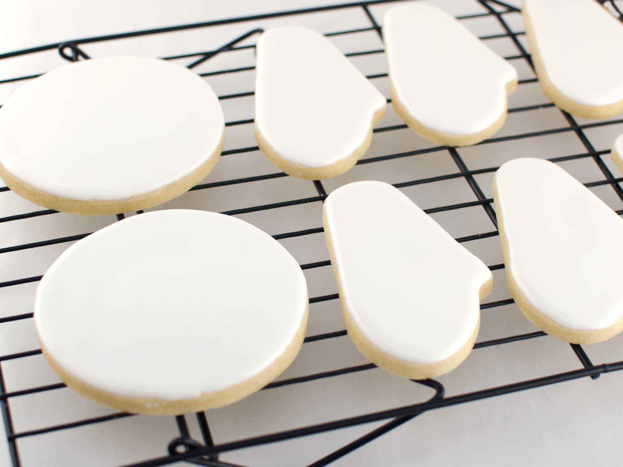christmas lights cookie platter