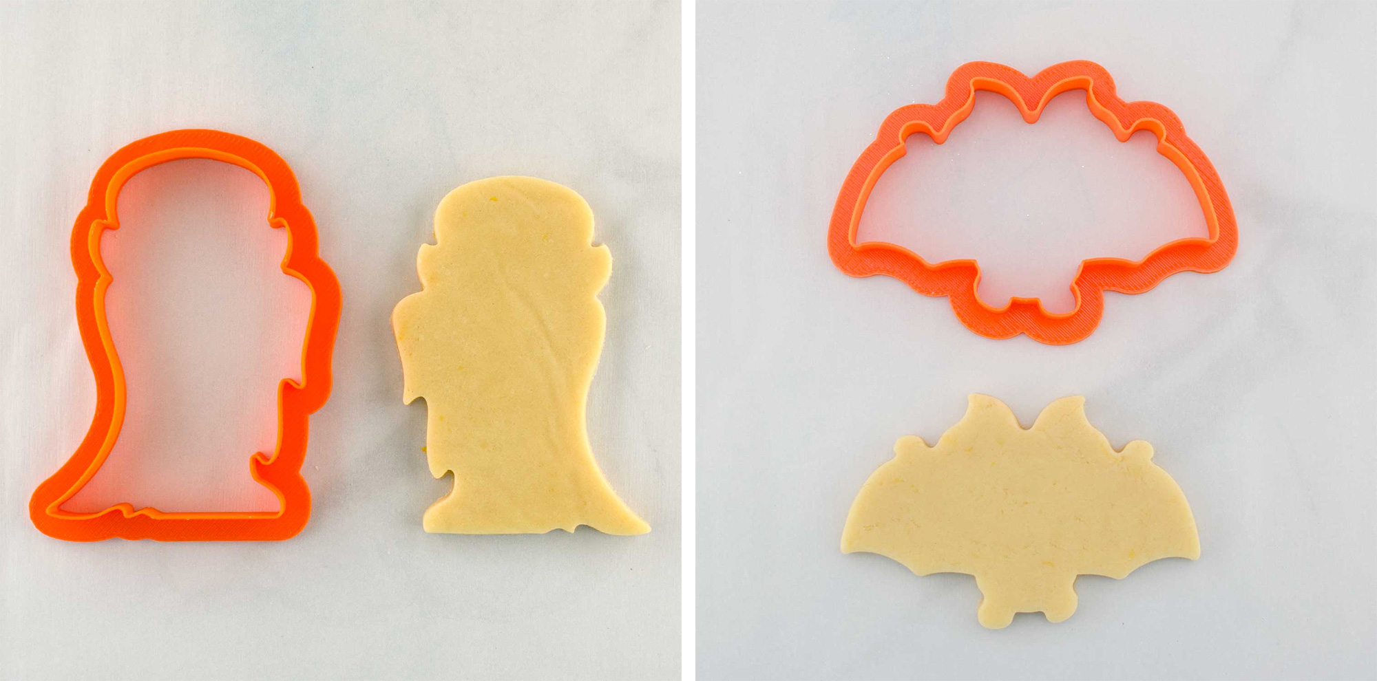 vampire and bat cookie cutters