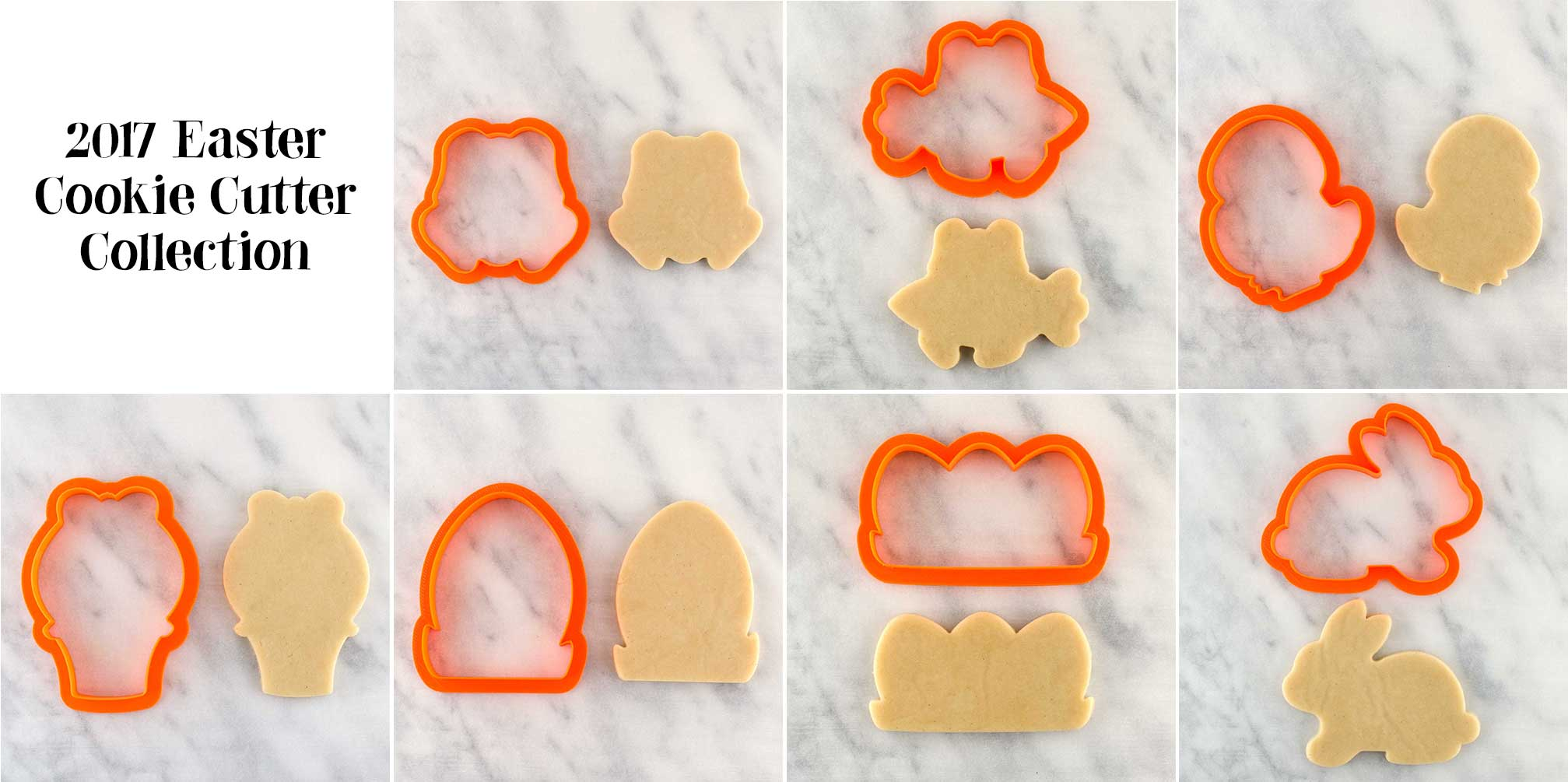 easter cookie cutter collection by Semi Sweet Designs
