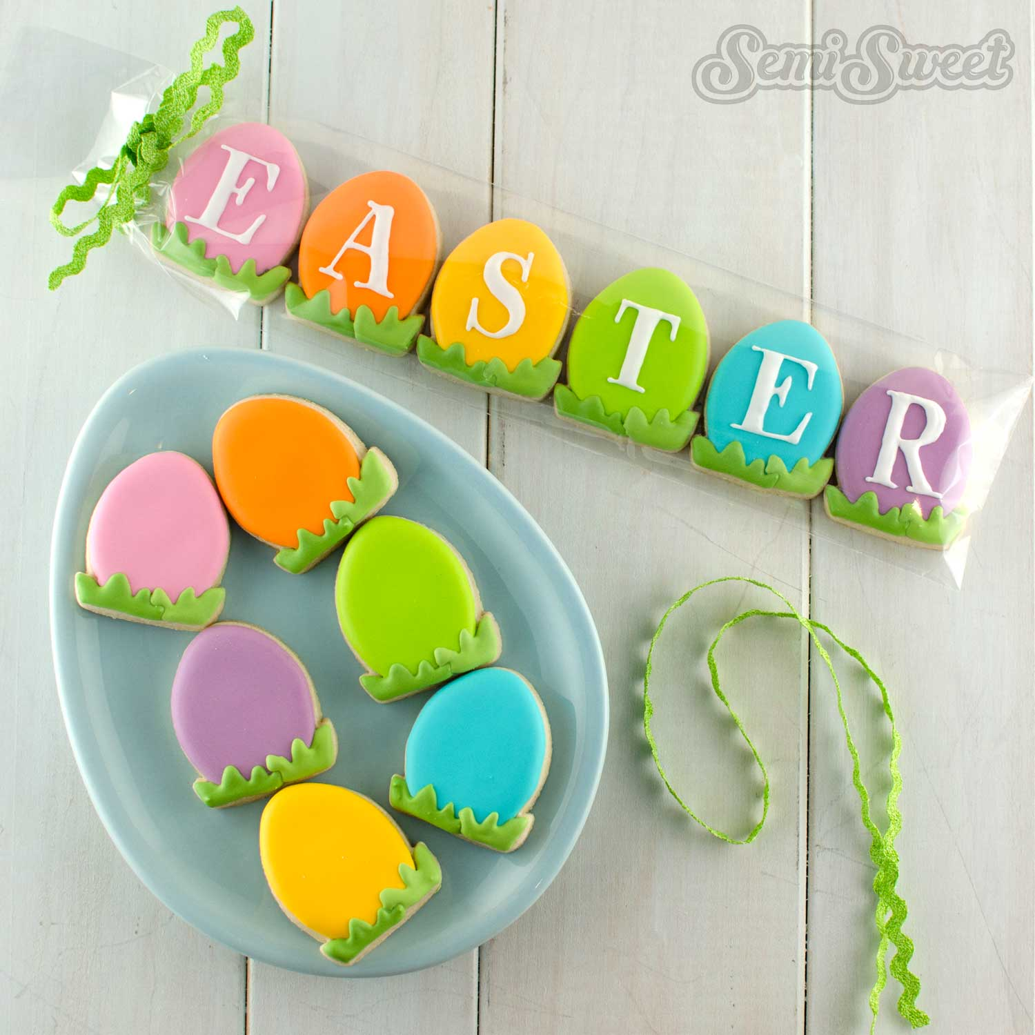 Mini Easter Cookies by Semi Sweet Designs