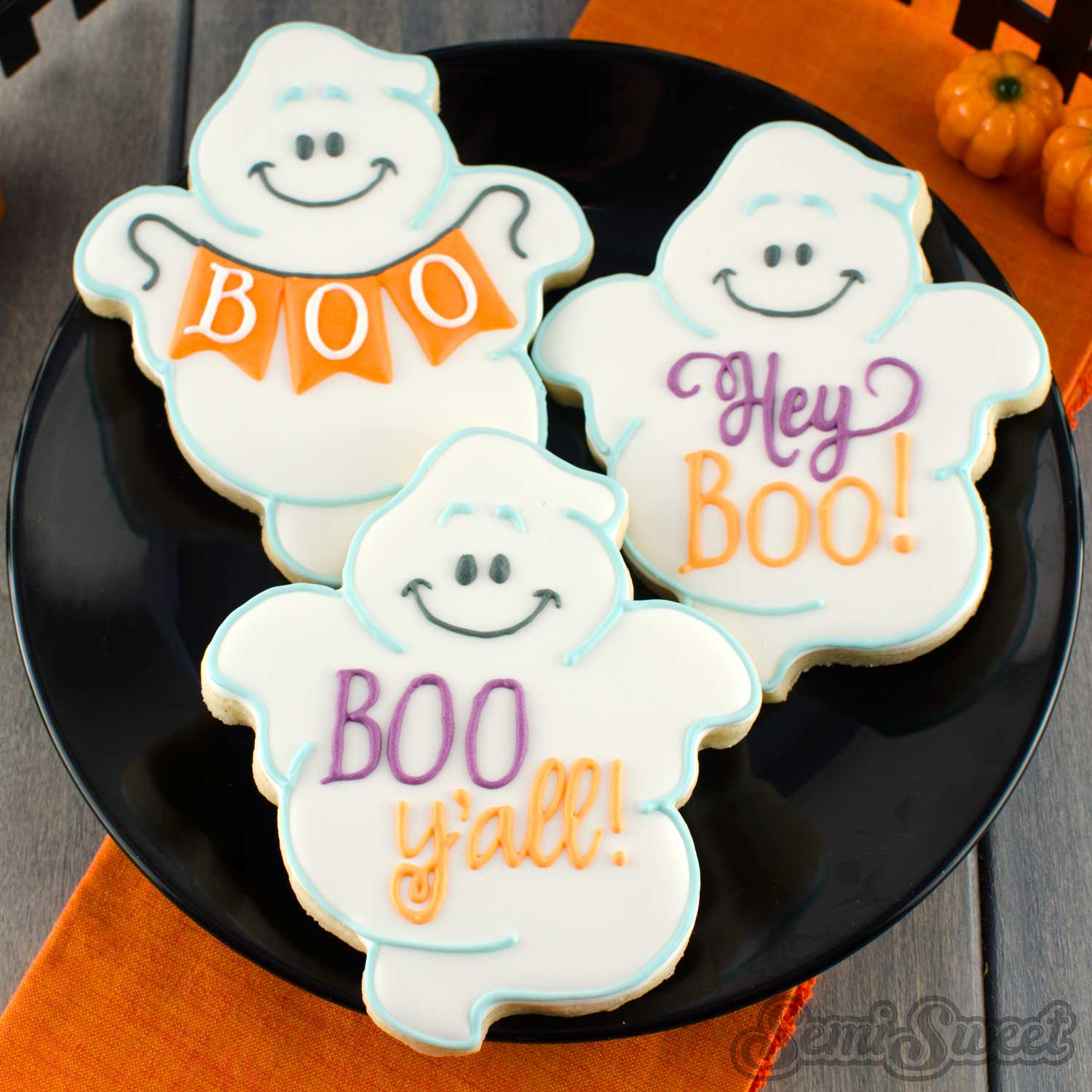 fat ghost cookies variations