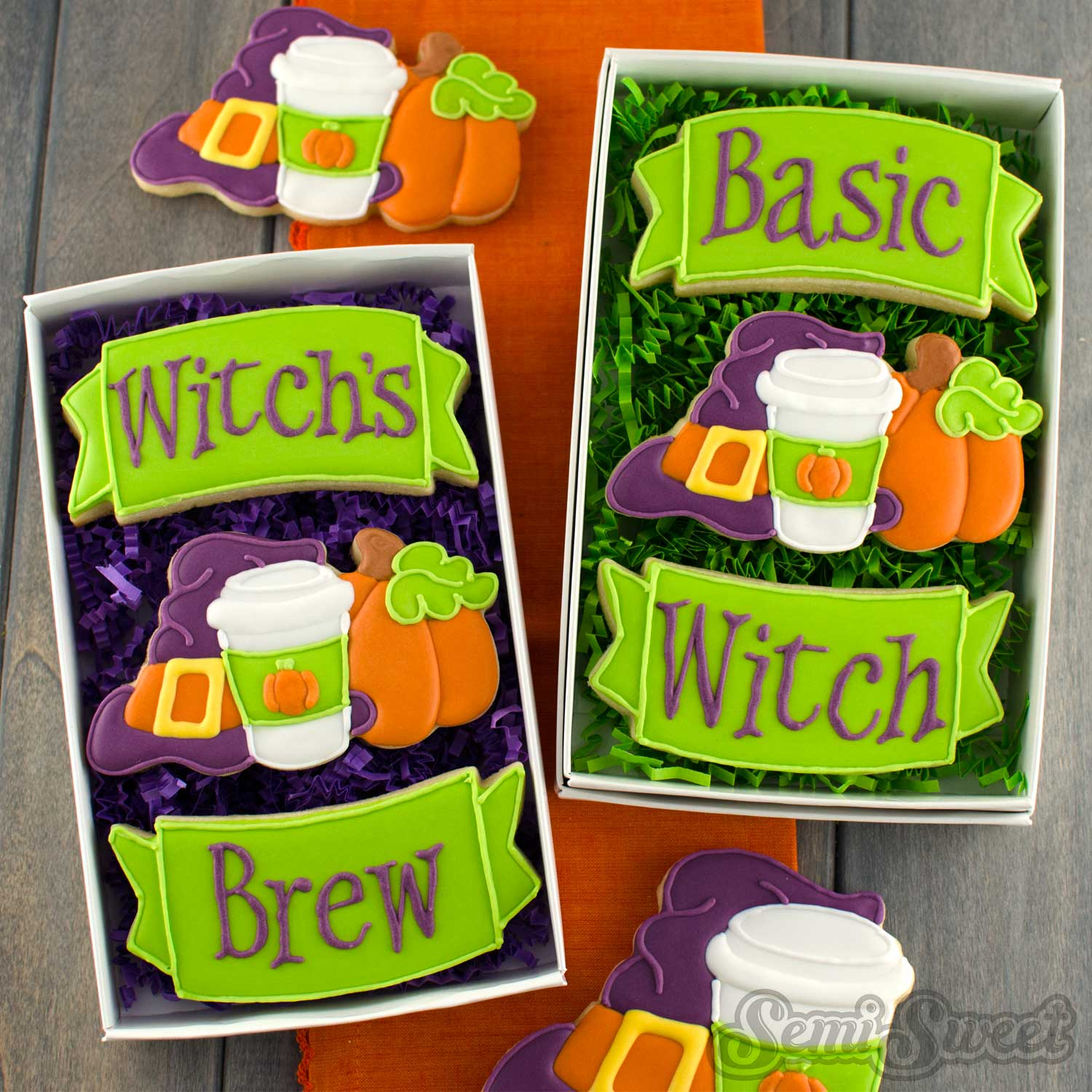 basic witch cookie sets