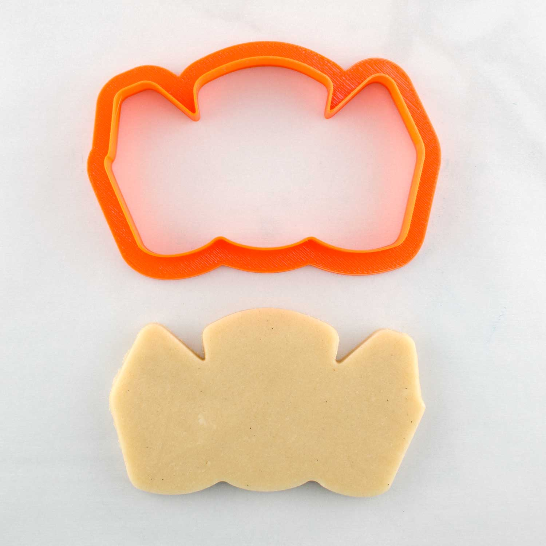 school supplies cookie cutter