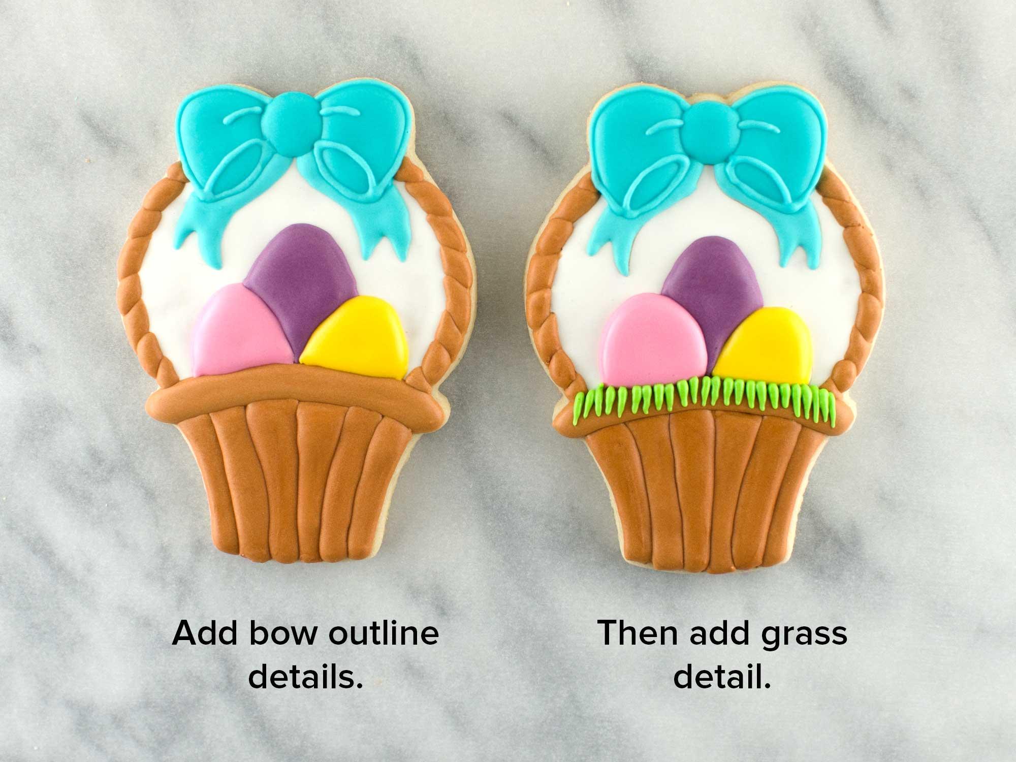 Easter Basket Cookies Step 5