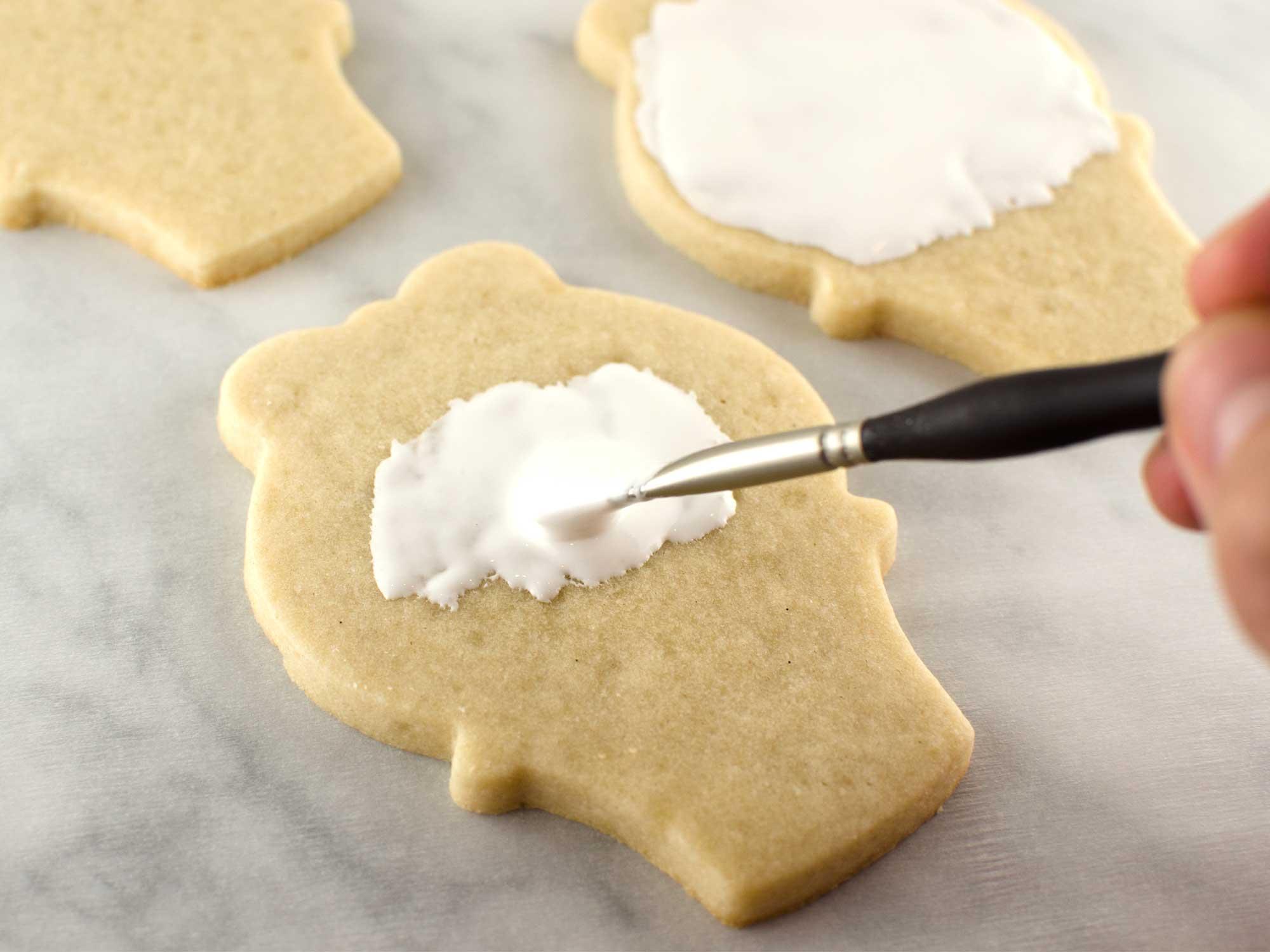 Easter basket cookies step 1