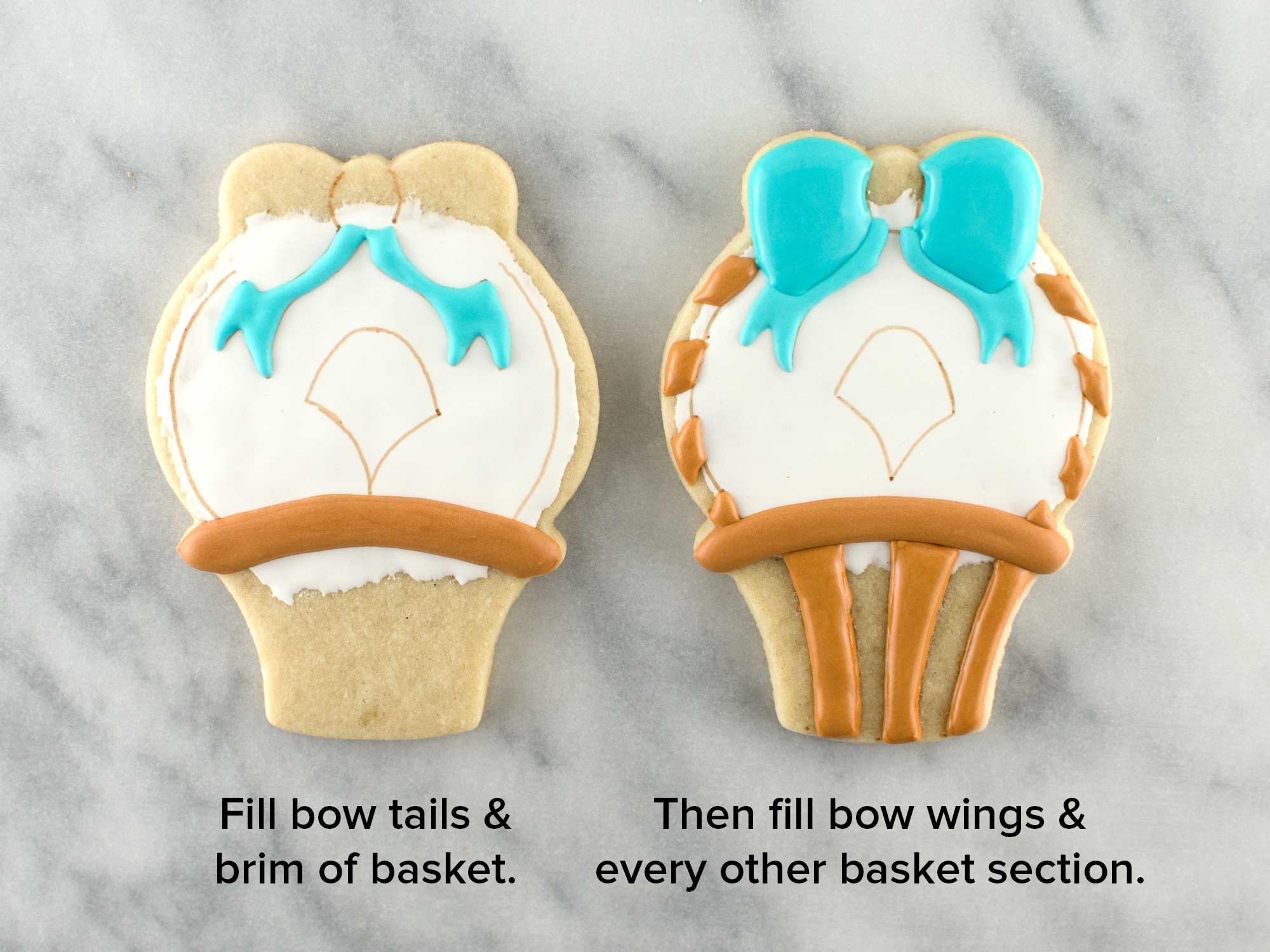 Easter basket cookies step 3