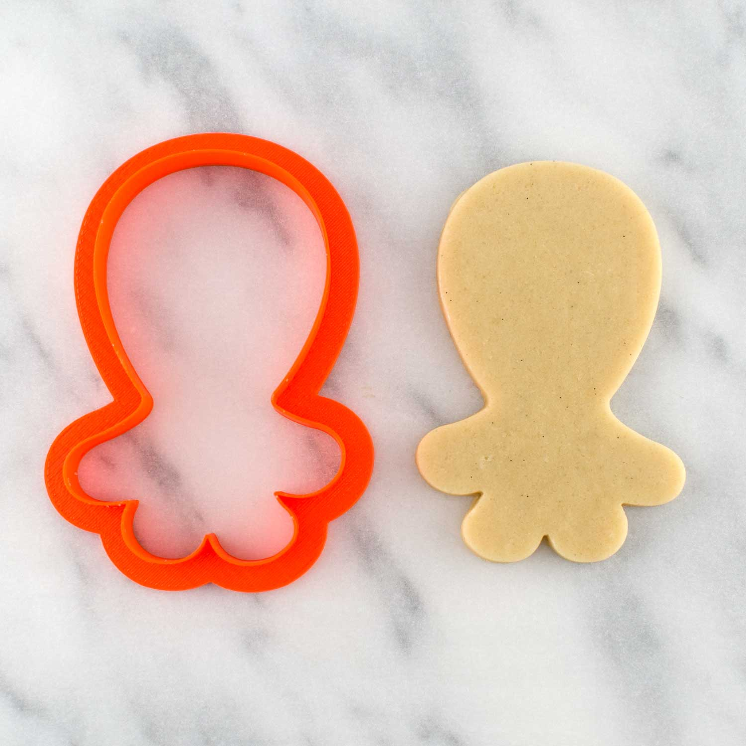 tail feather birdie cookie cutter