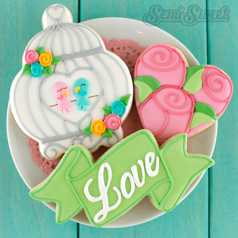 birdcage cookies by Semi Sweet Designs