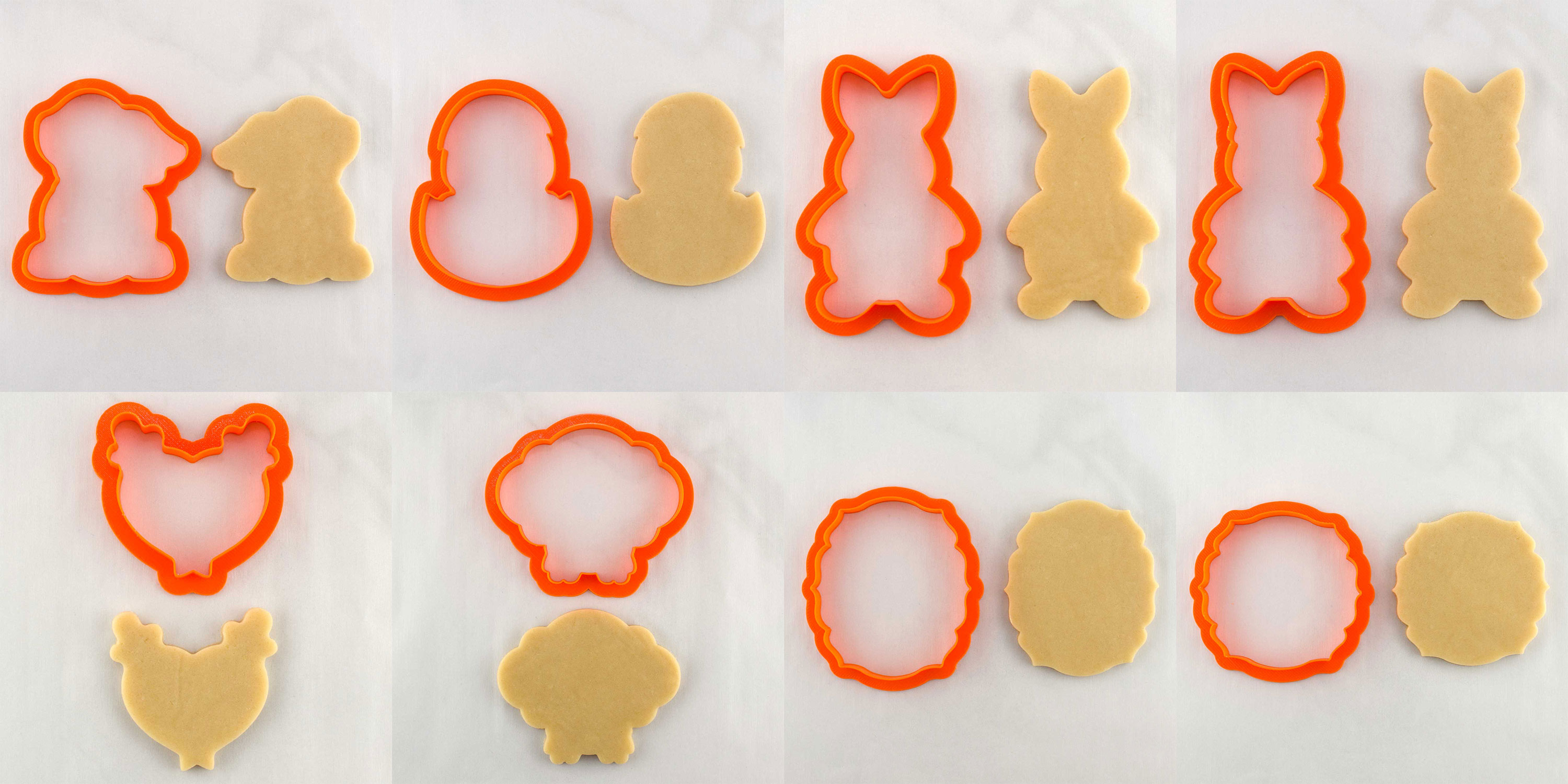 2018 easter cookie cutter collection
