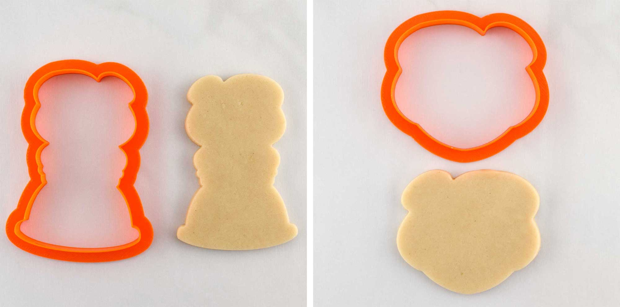 Mrs. Claus cookie cutters