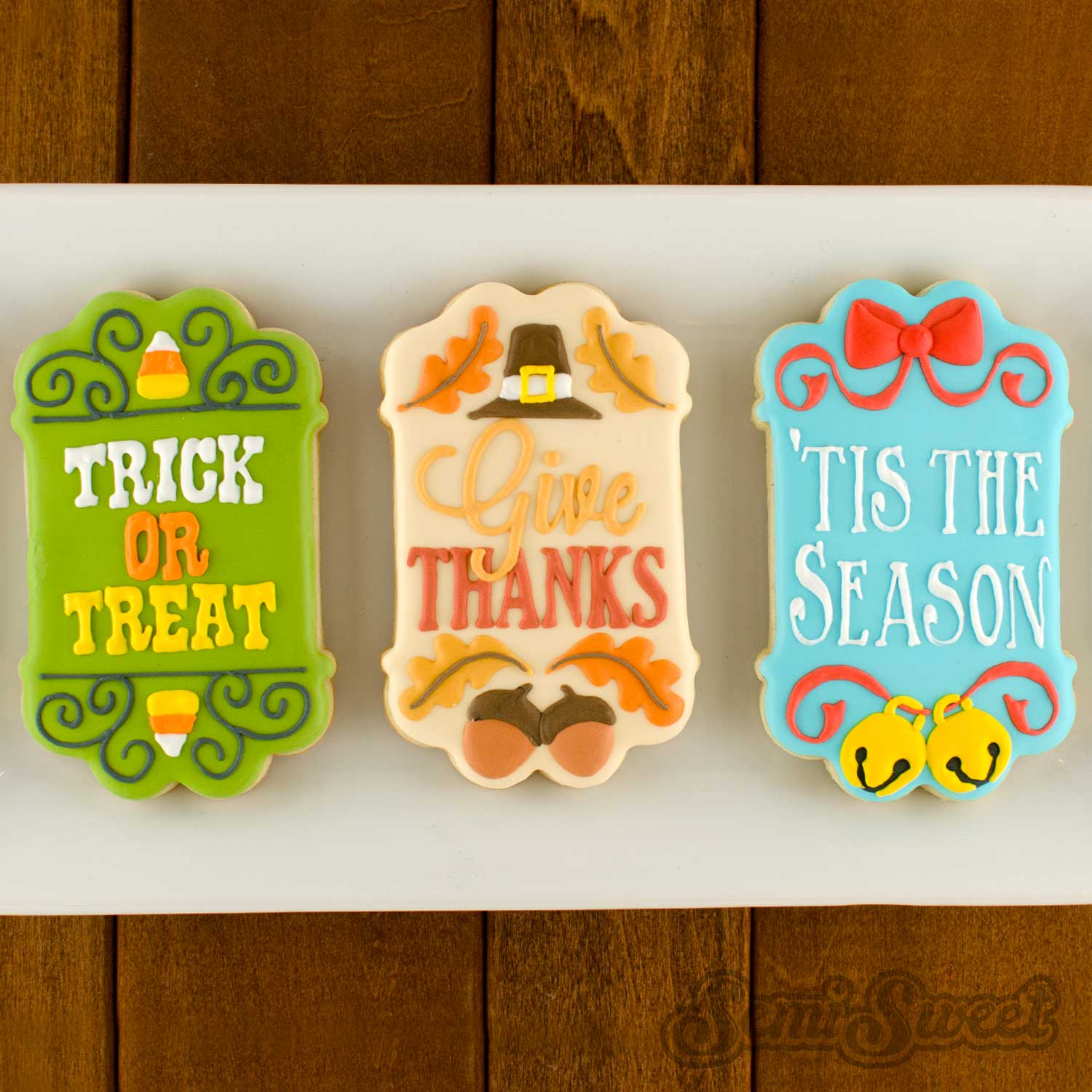 cookie thick header-footer plaque example
