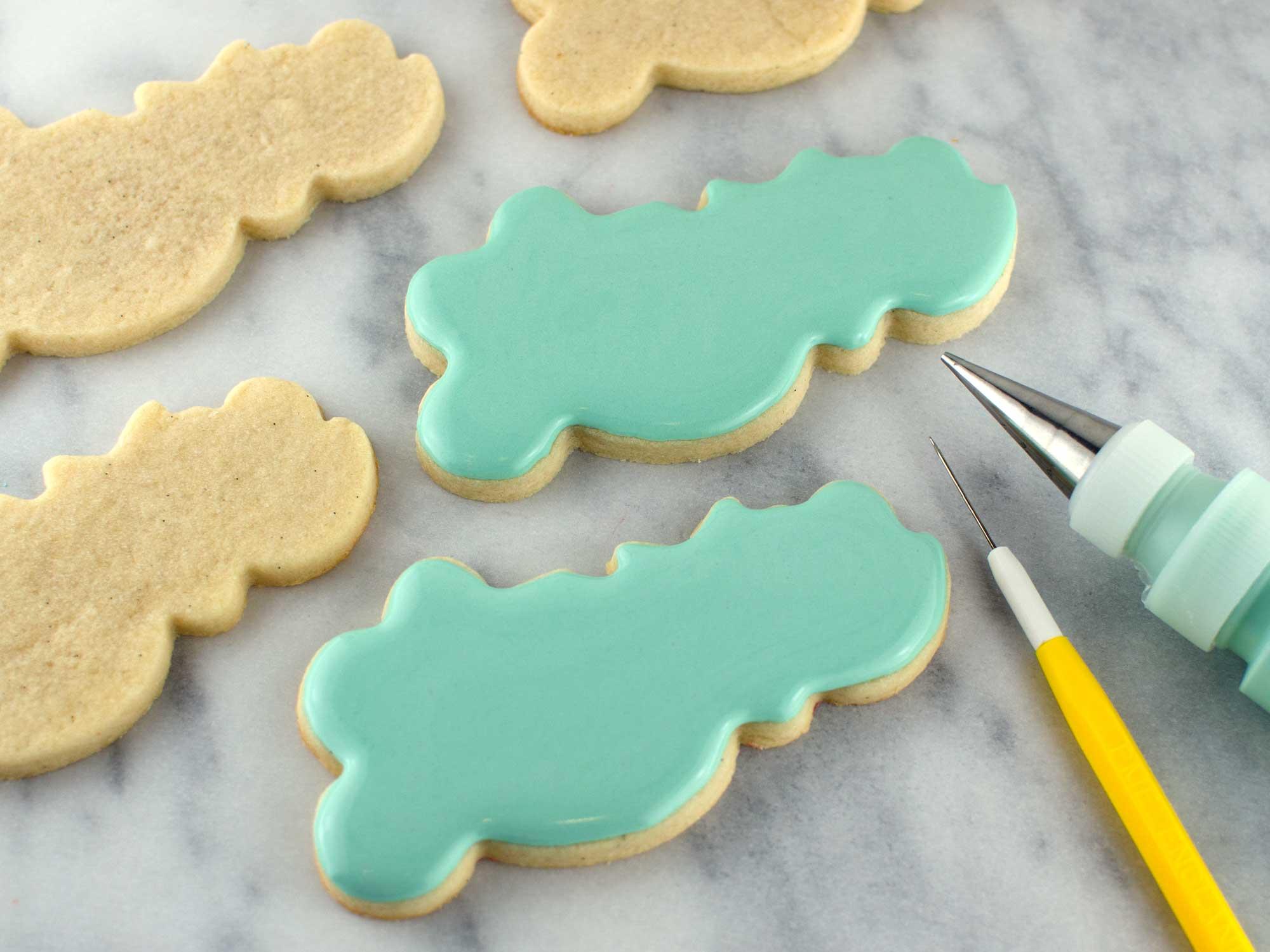 wedding love cookies step 1
