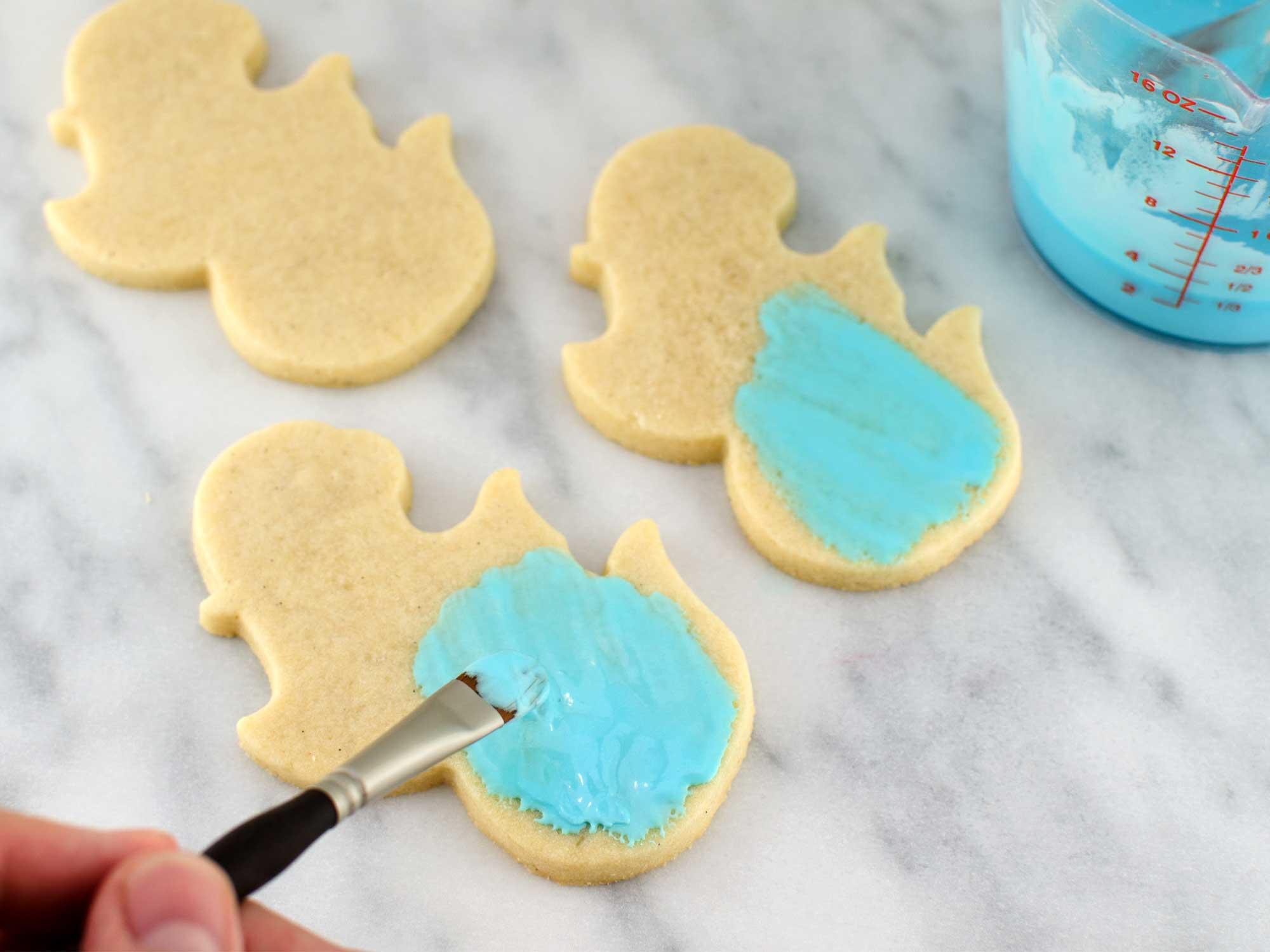mermaid cookies step 1