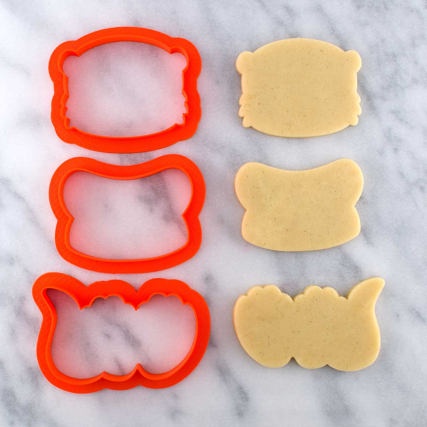 otter cookie cutter set
