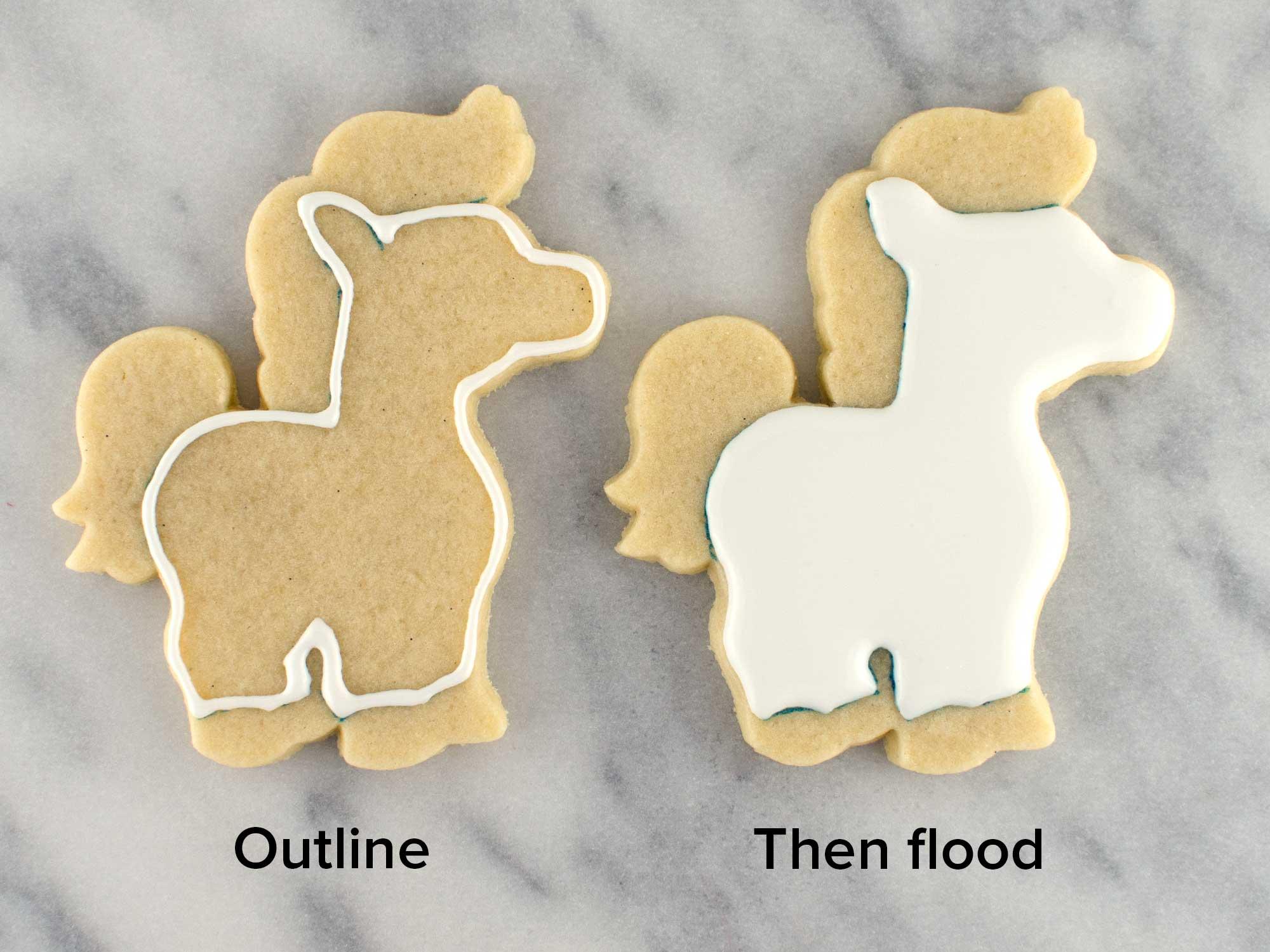 unicorn cookies step 2