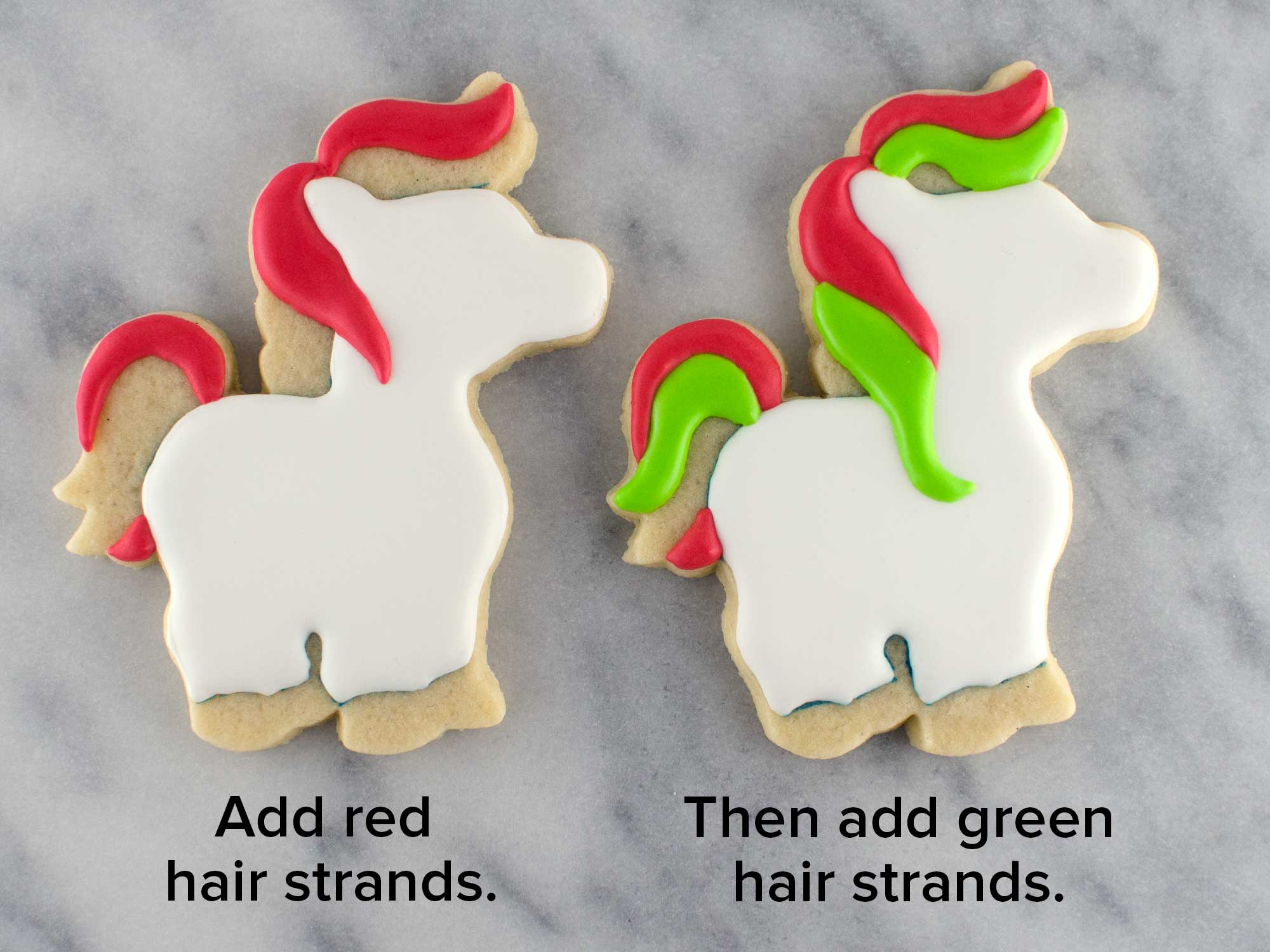 How To Make Unicorn Cookies