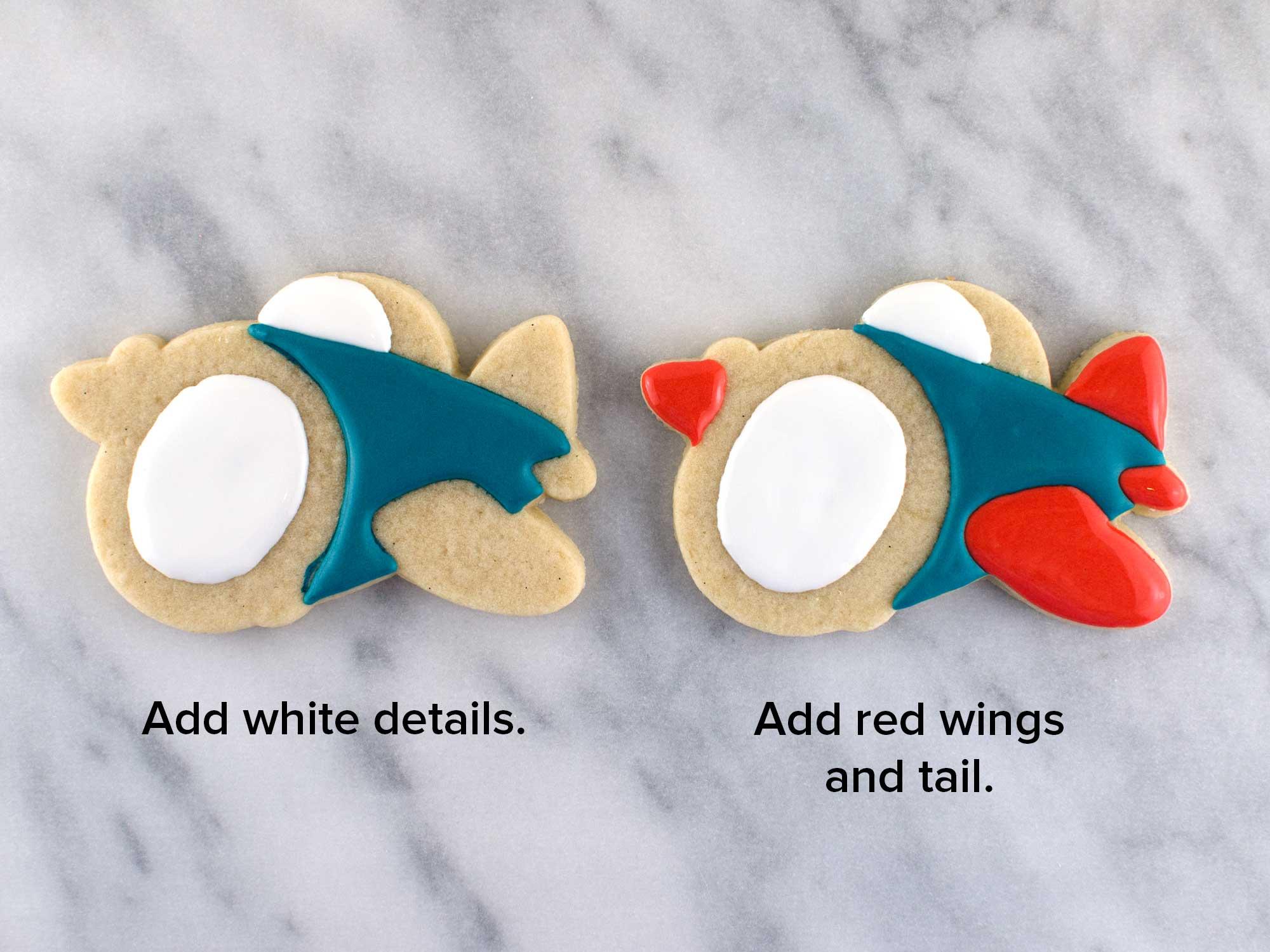 airplane cookies step 3