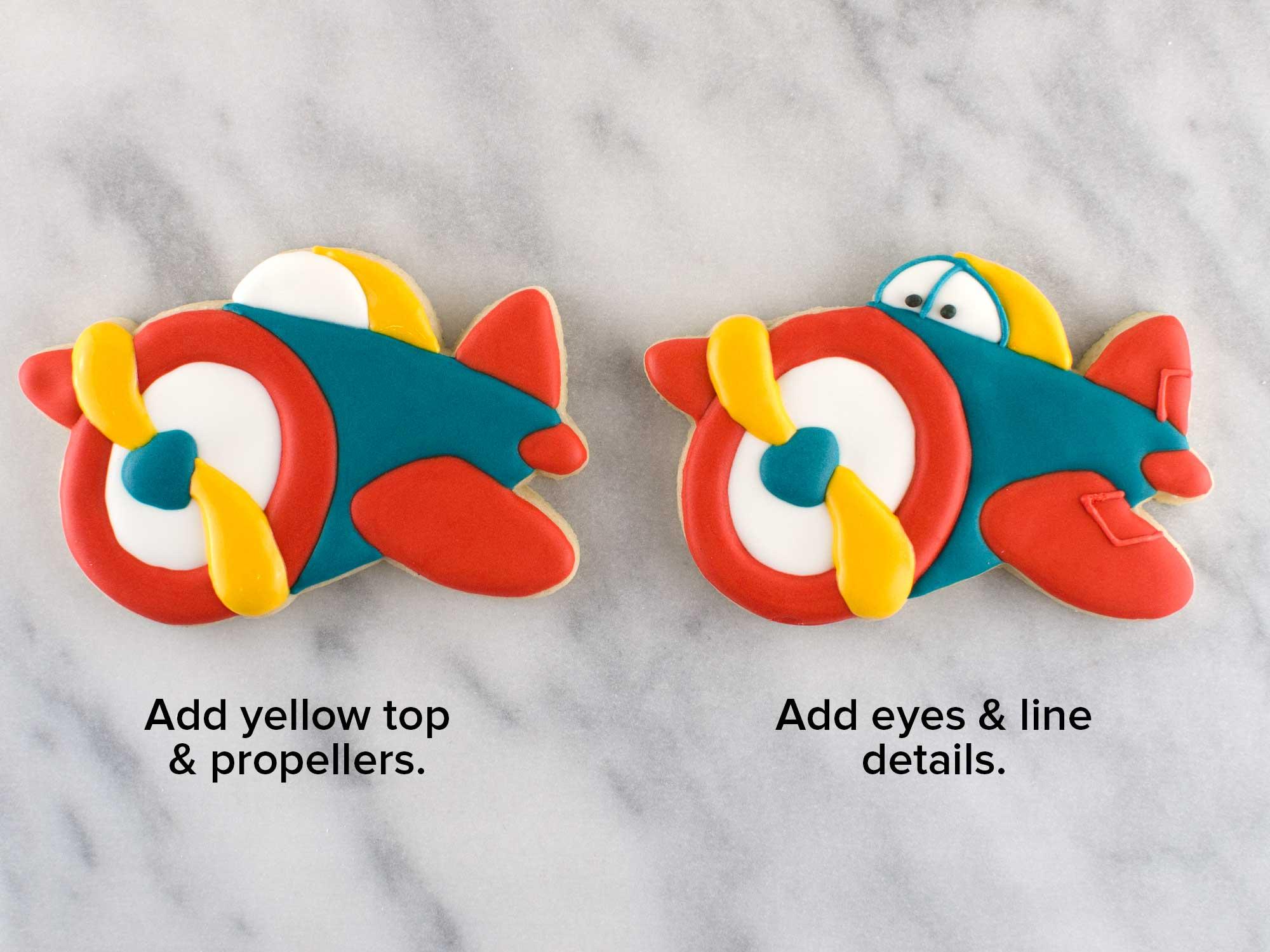 airplane cookies step 5