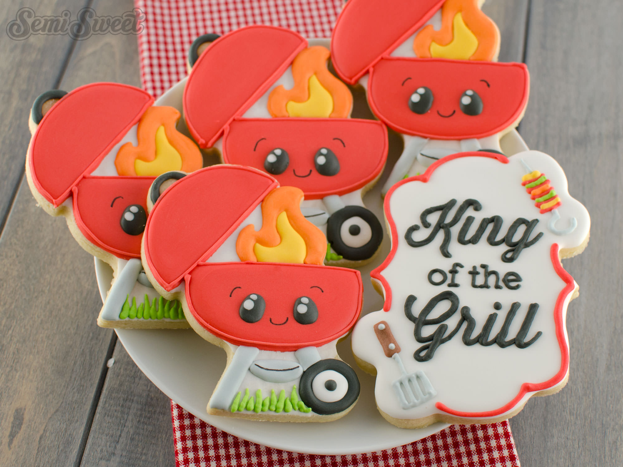 How to Make BBQ Grill Cookies