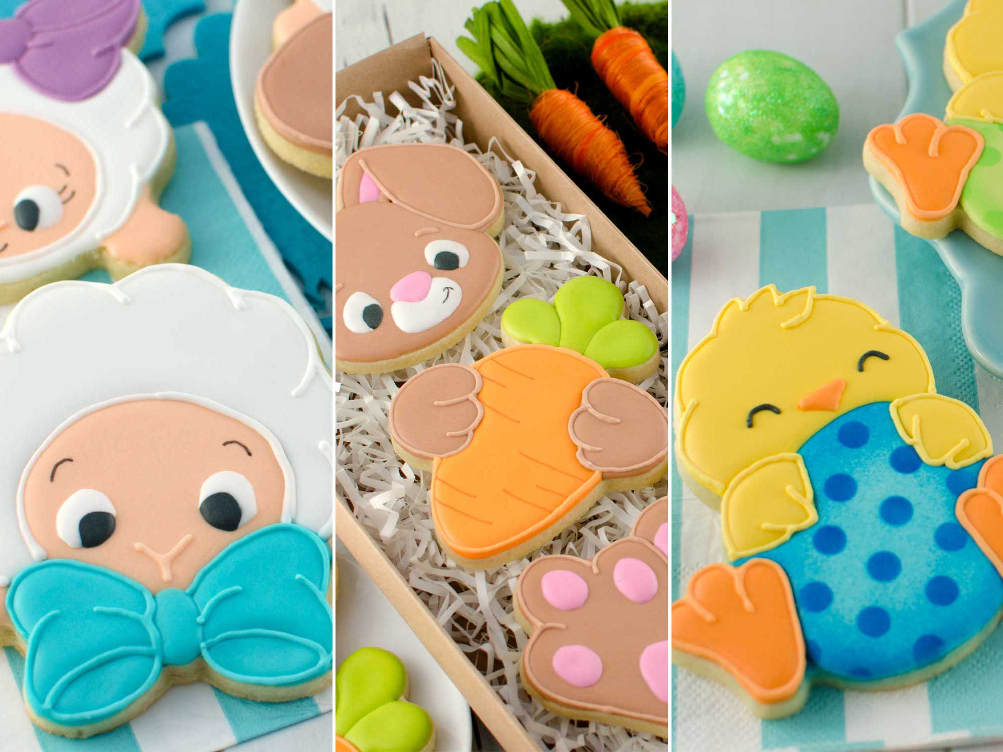2019 Easter Cookie Designs and Cutters