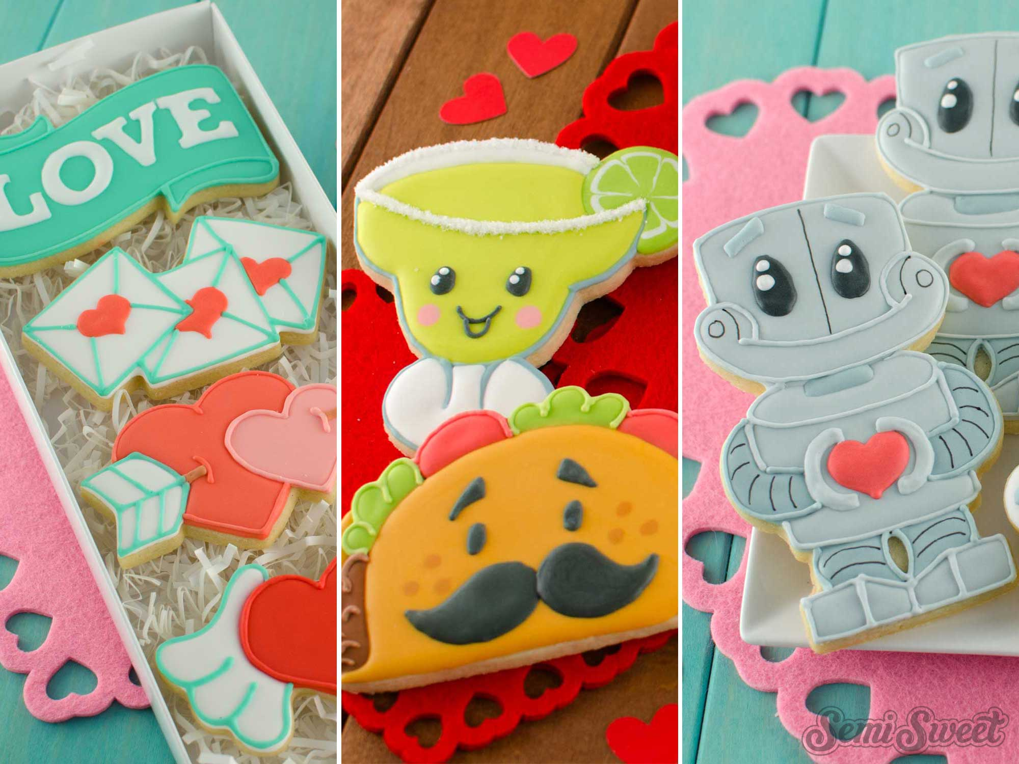 2019 Valentine's Day Cookie Cutters and Designs