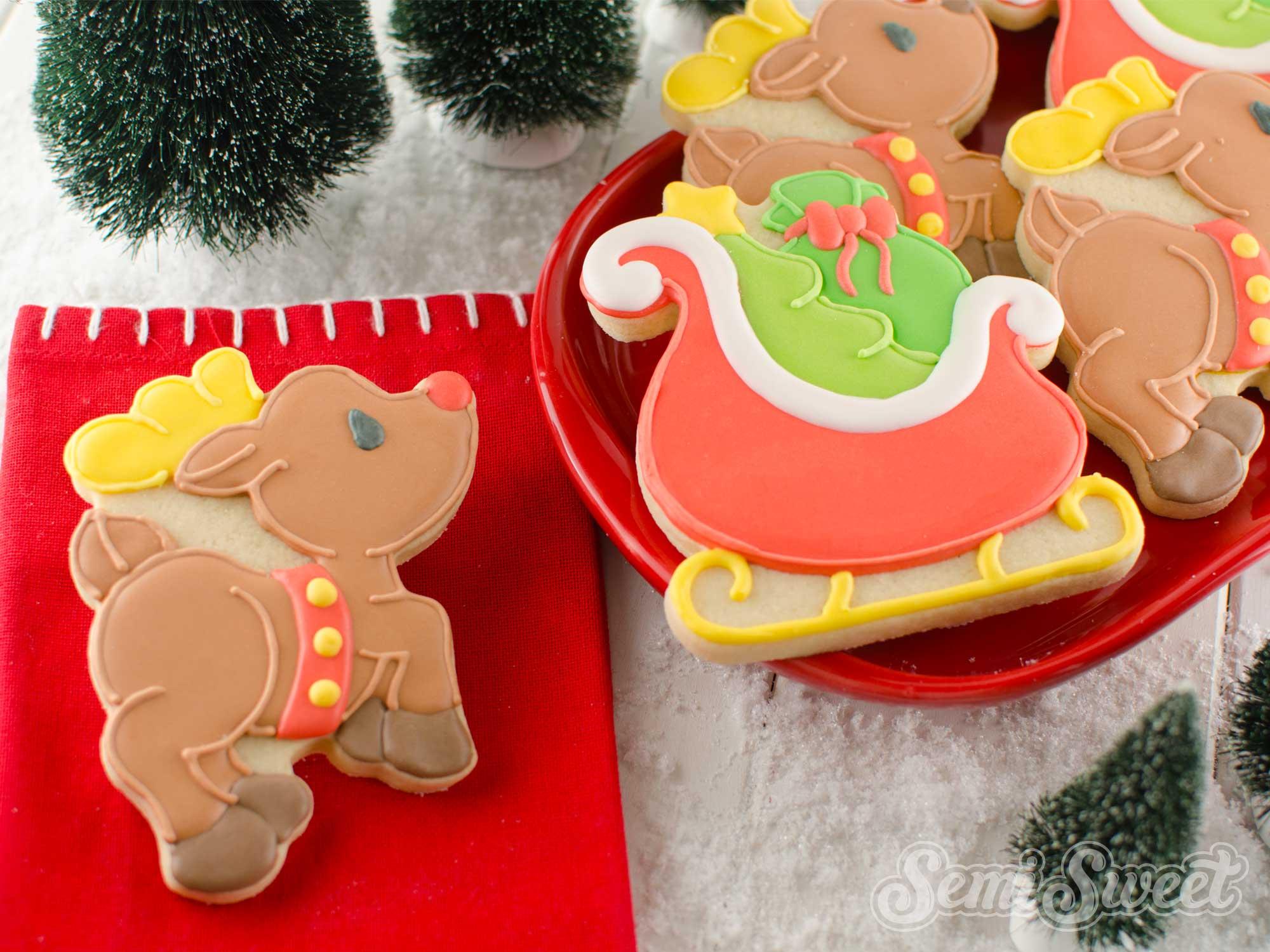 How to Make Flying Reindeer Cookies