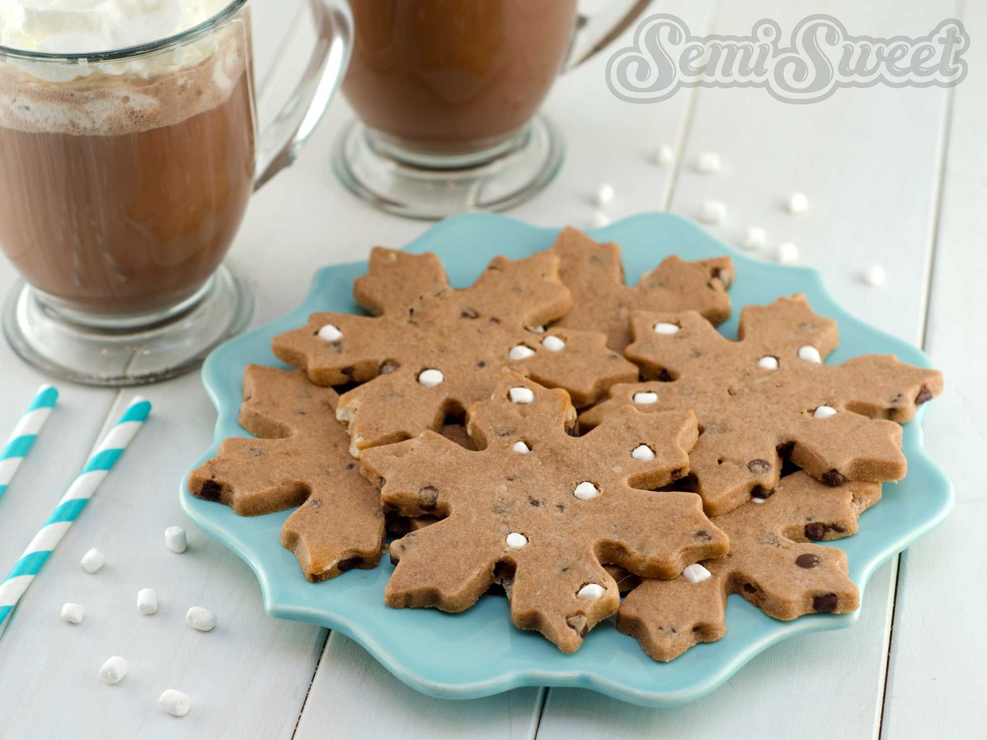 Hot Chocolate Roll-Out Cookie Recipe