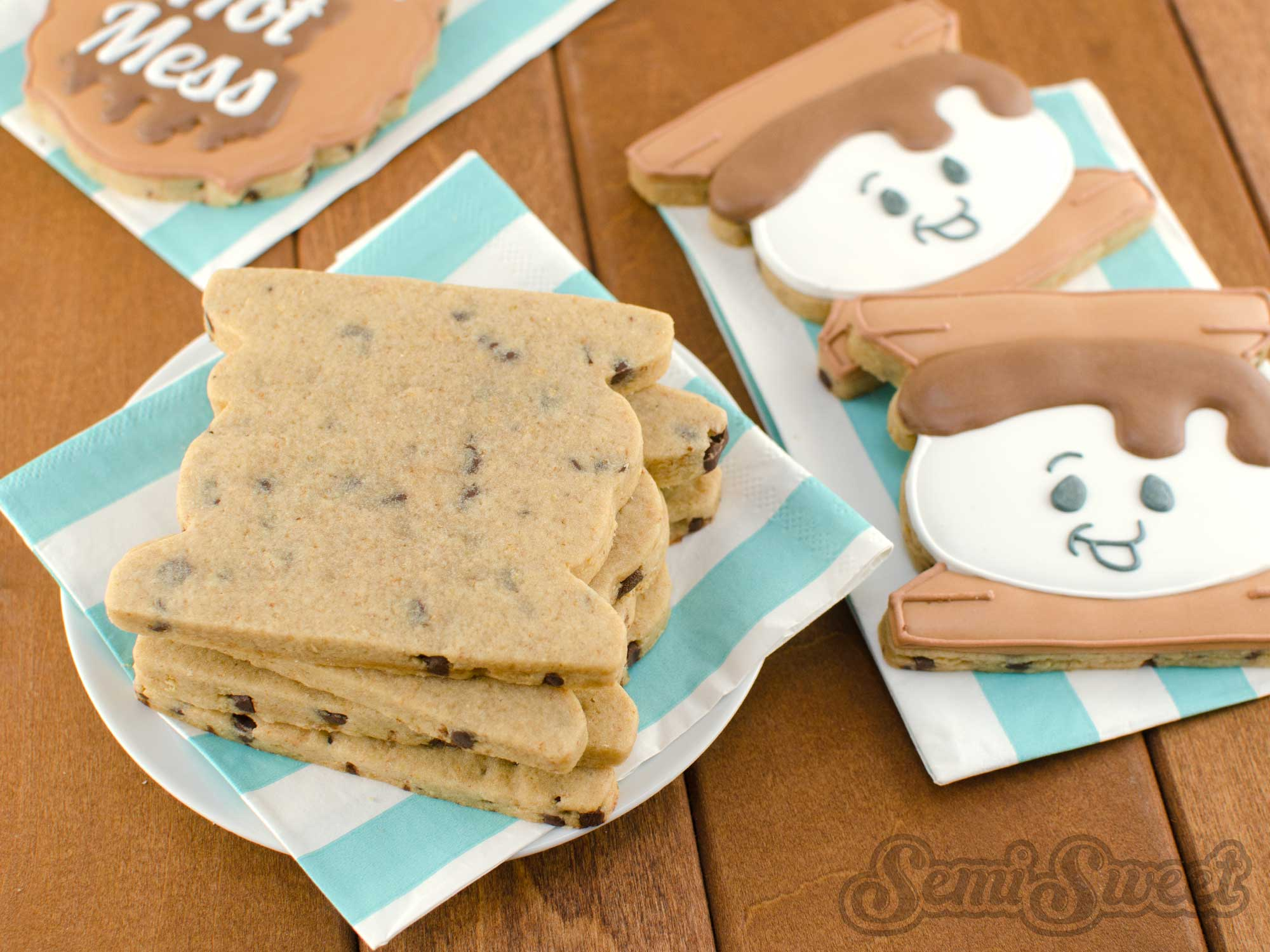 S'mores Cut-Out Cookie Recipe
