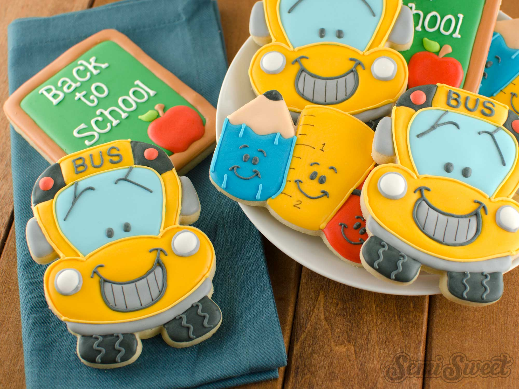 How to Make School Bus Cookies