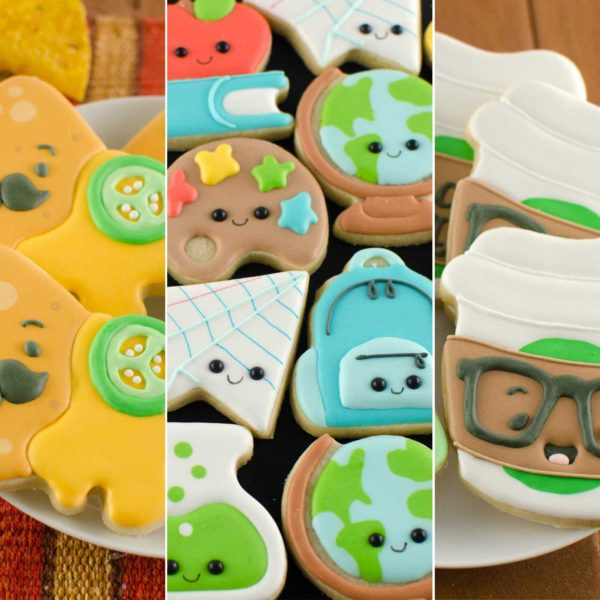 2019 Back-to-School Cookie Cutters and Designs