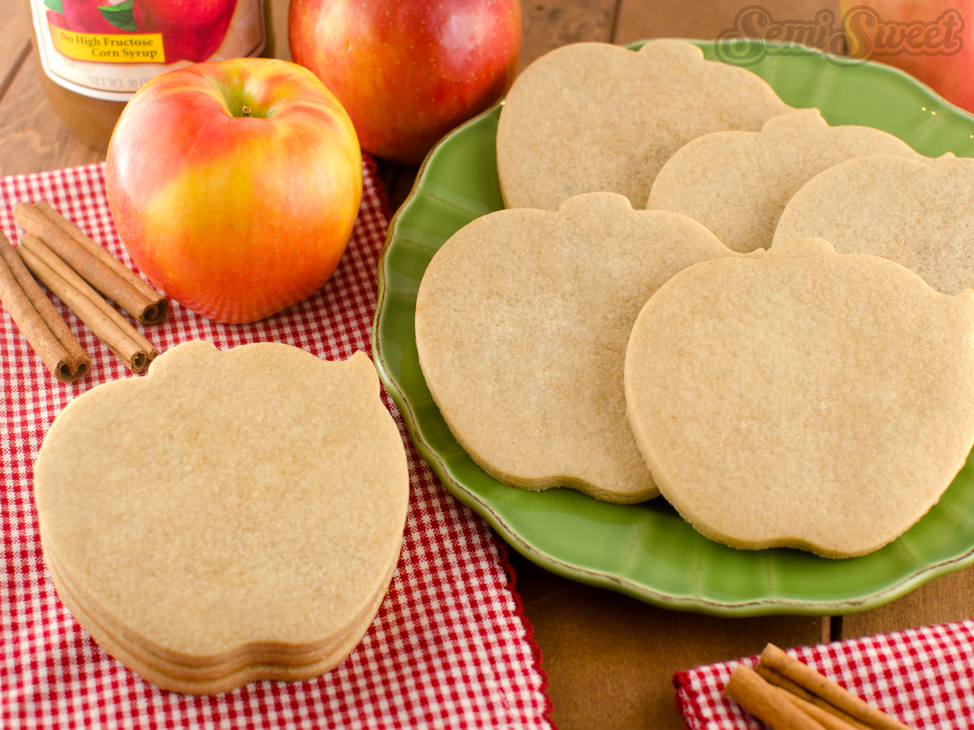 Spiced Apple Cut-Out Cookies