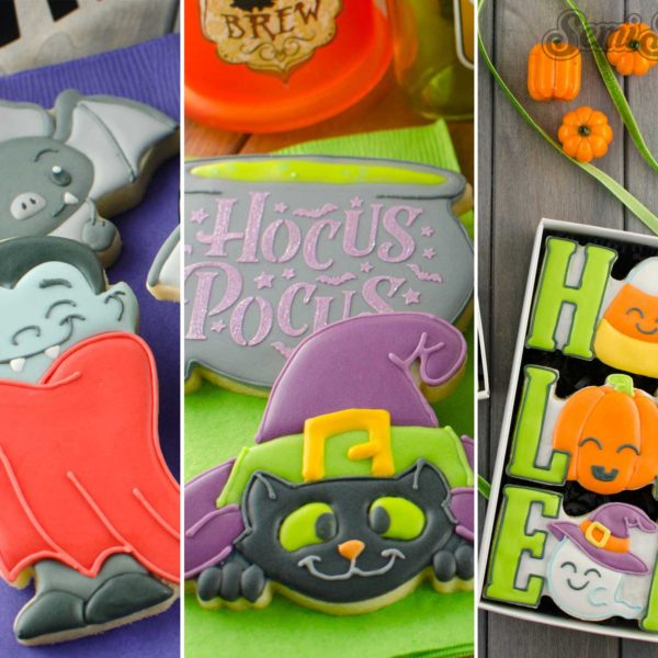 2018 Halloween Cookie Cutters and Designs