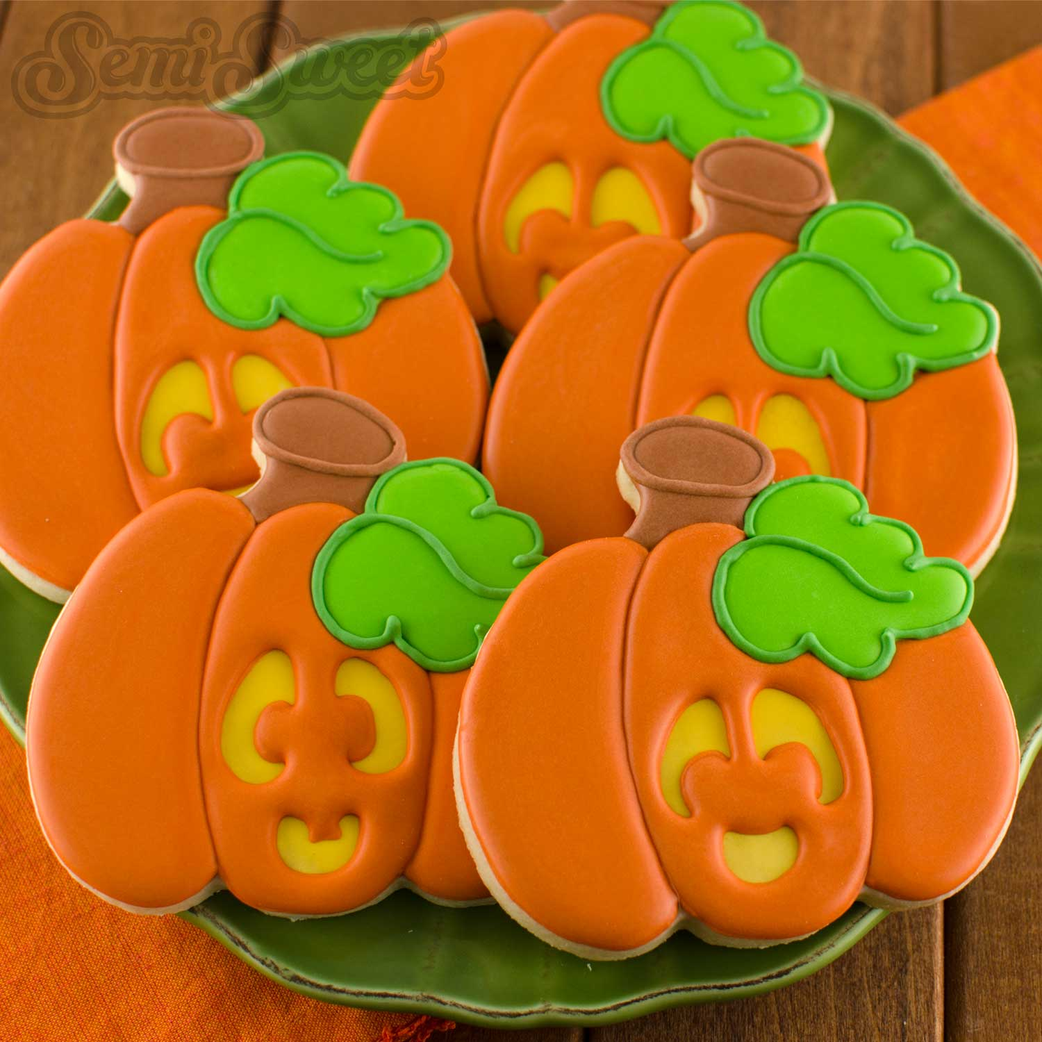 How to Make Jack O' Lantern Cookies