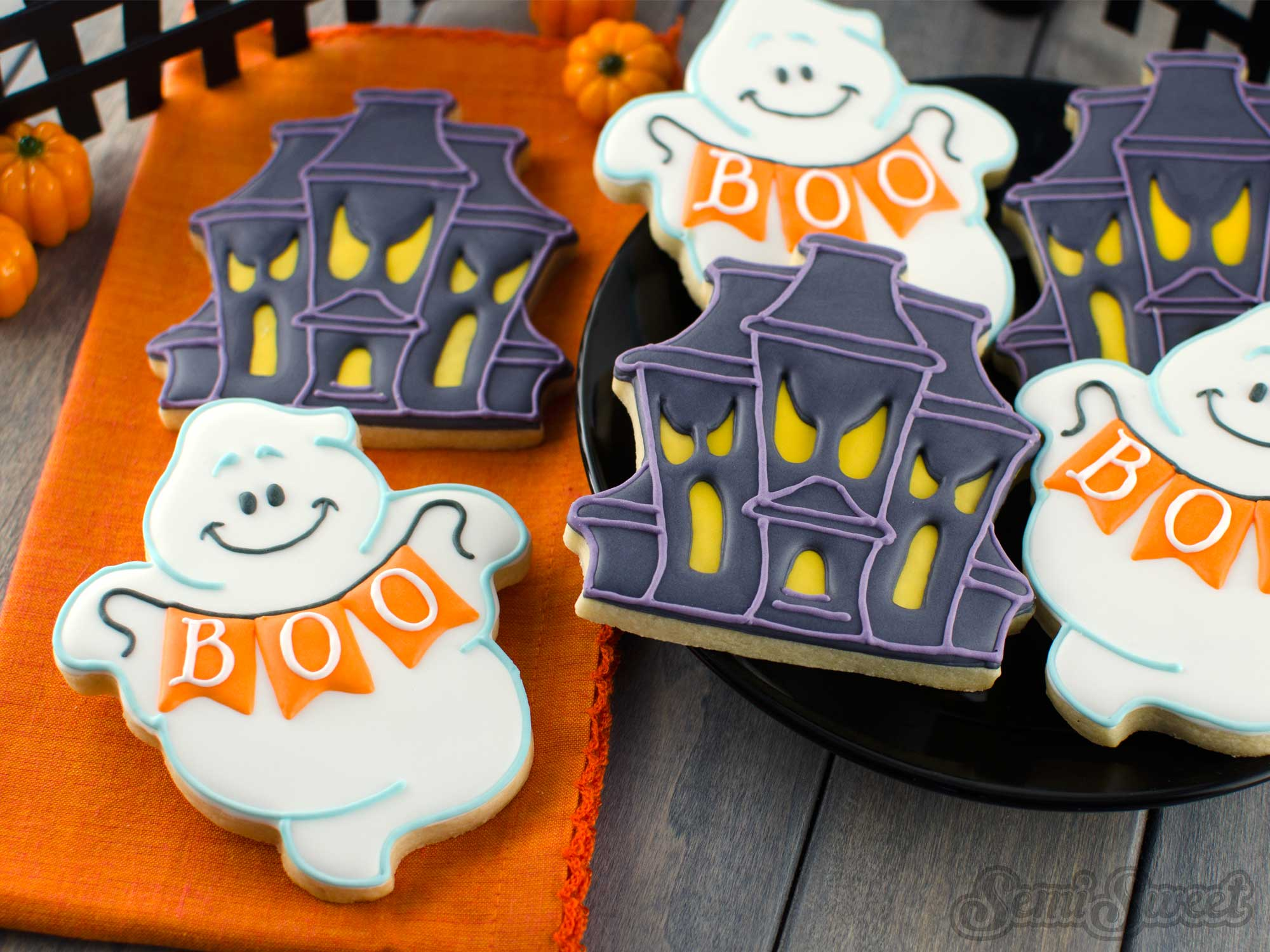 How to Make Chubby Ghost Cookies