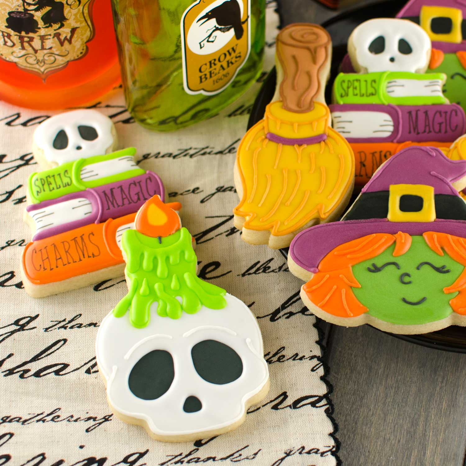 How to Make Skull Candle Cookies
