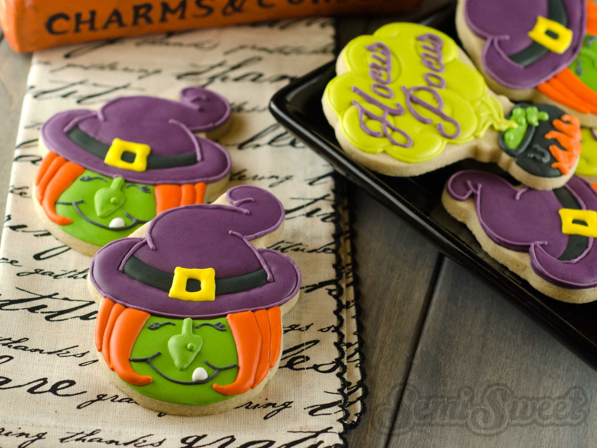 How to Make Halloween Witch Cookies