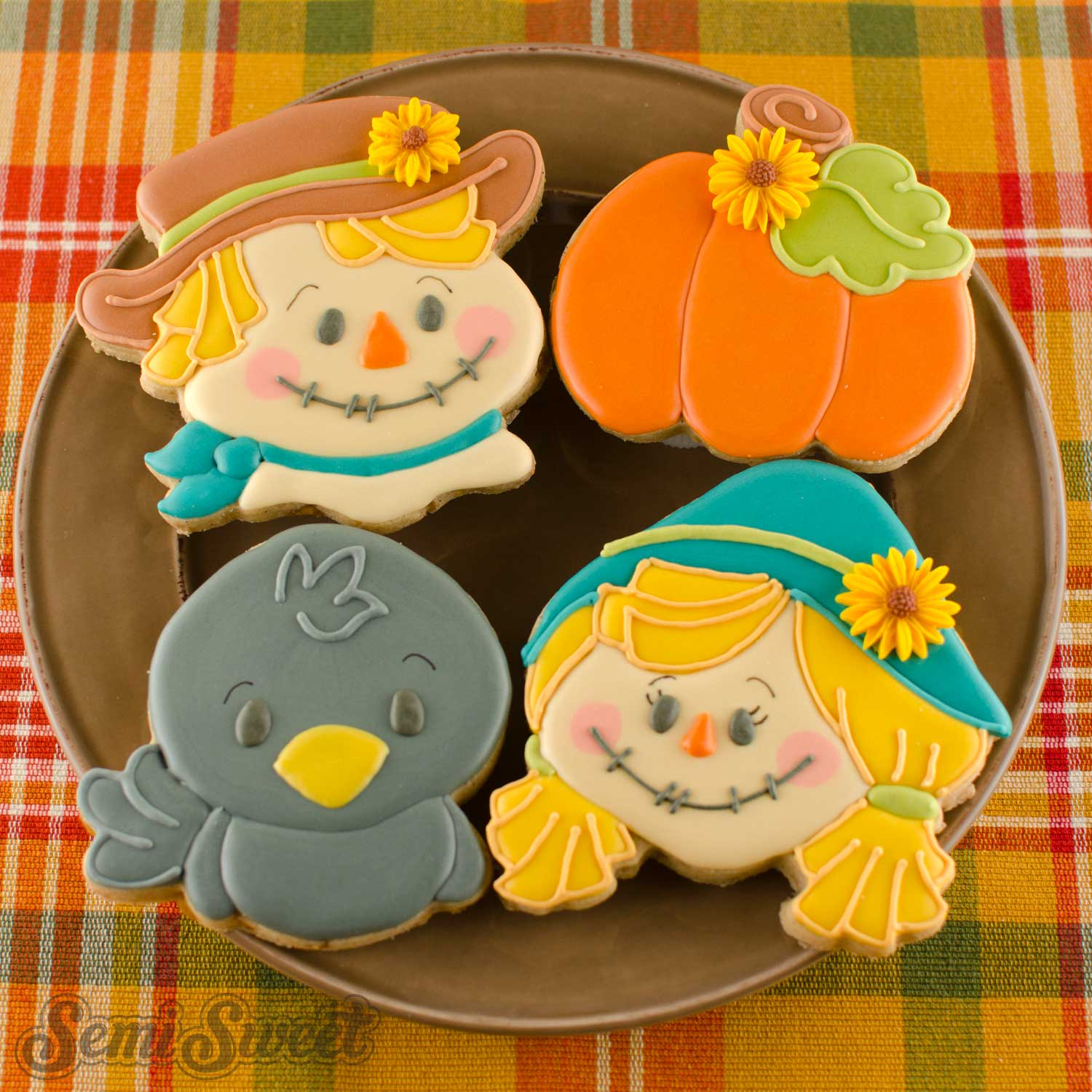 How to Make Scarecrow Cookies