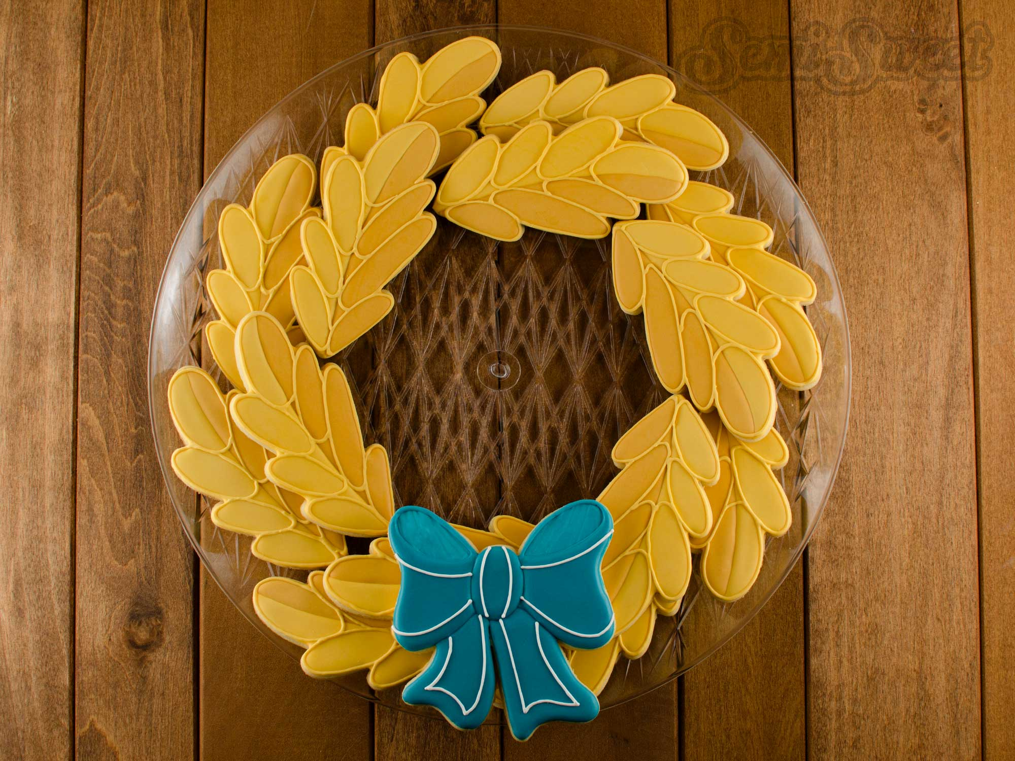 Fall Wreath Cookie Platter And Giveaway
