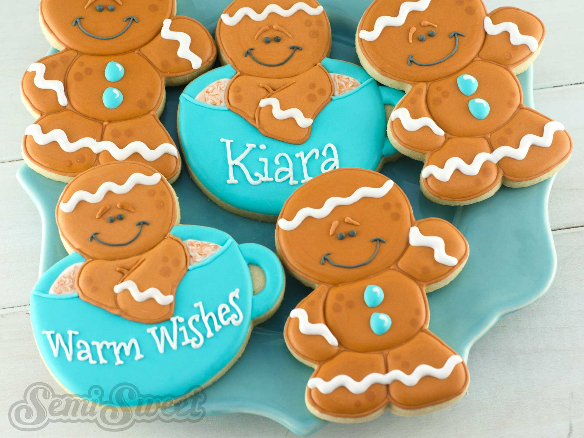 How to Make Decorated Gingerbread Man Cookies