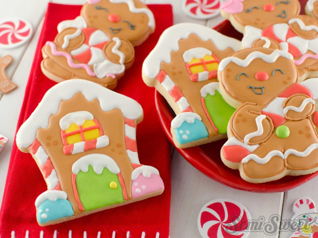 How to Make Gingerbread House Cookies