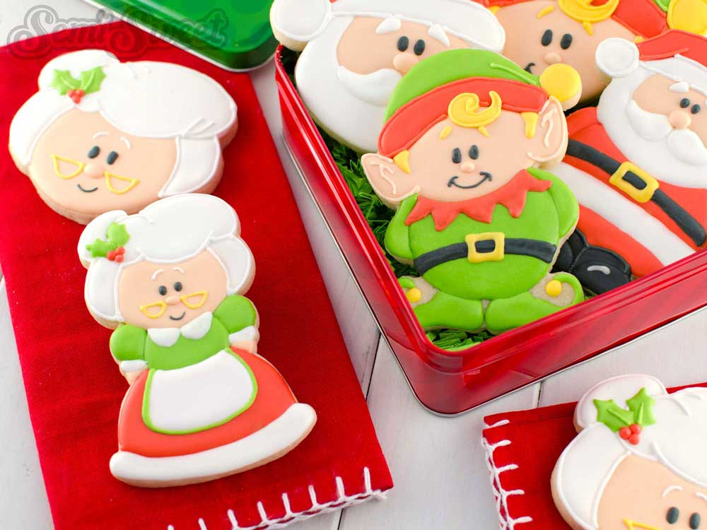How to Make Mrs. Claus Cookies