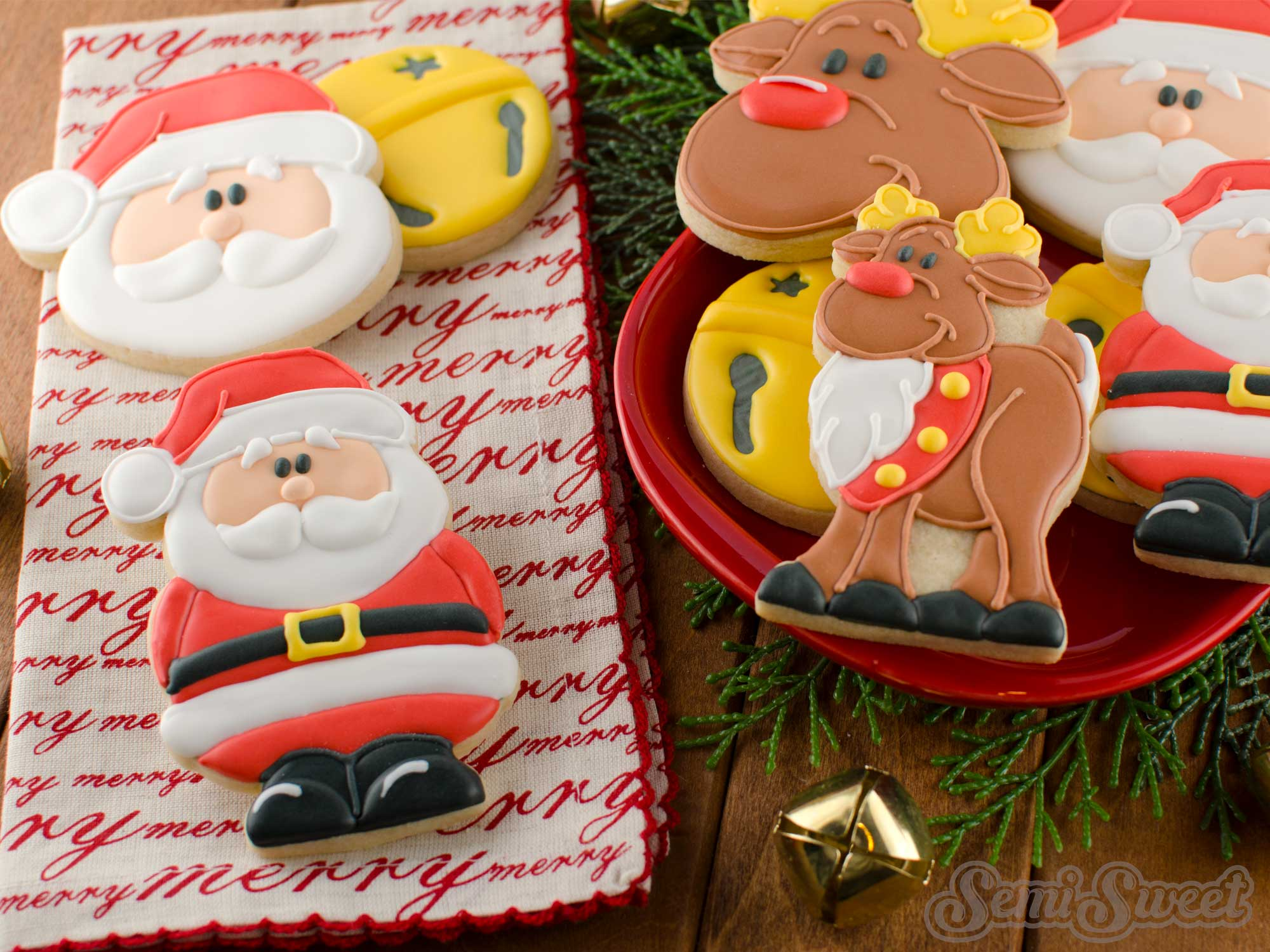 How To Make Santa Claus Cookies