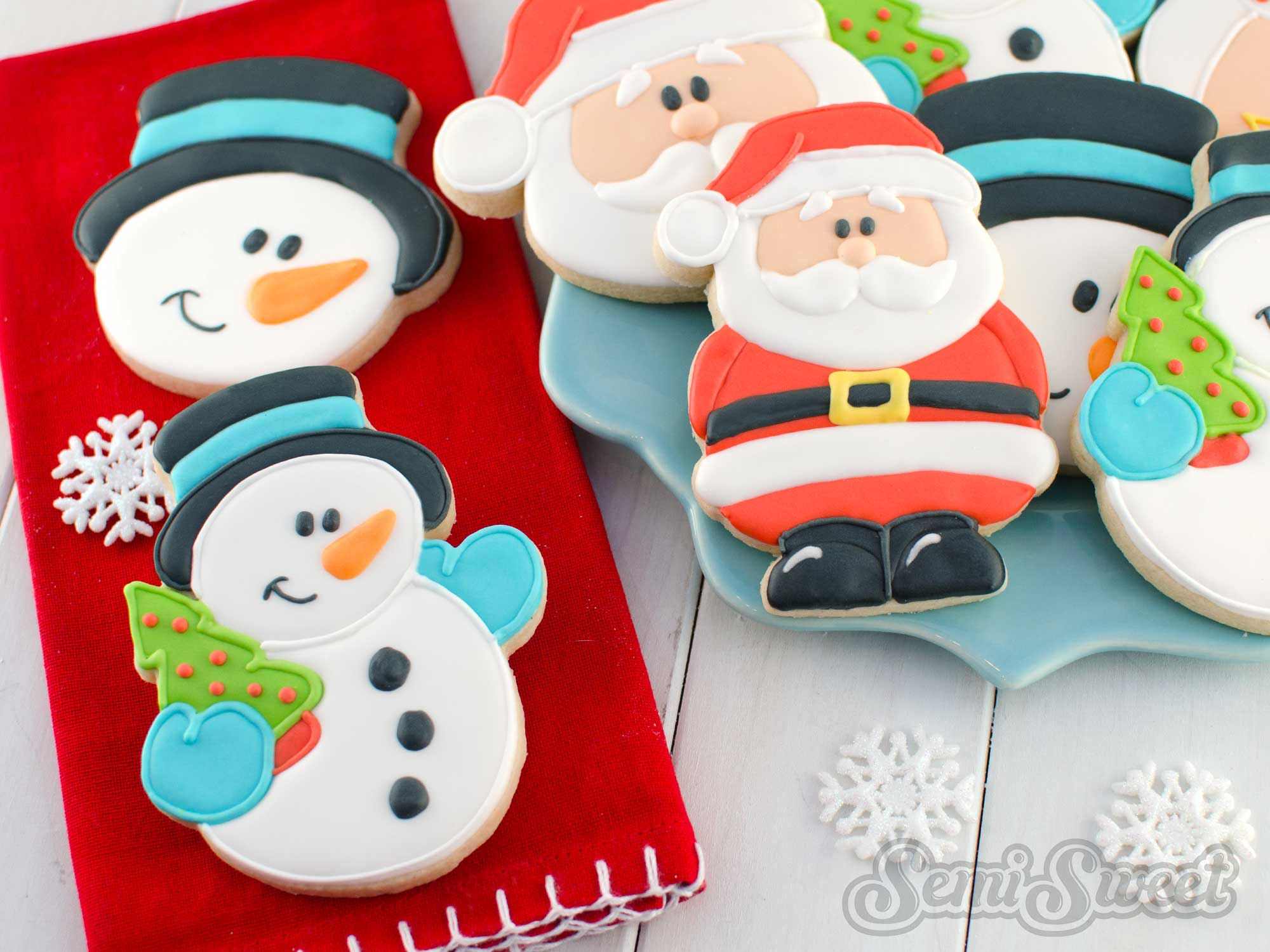 How to Make Snowman Cookies